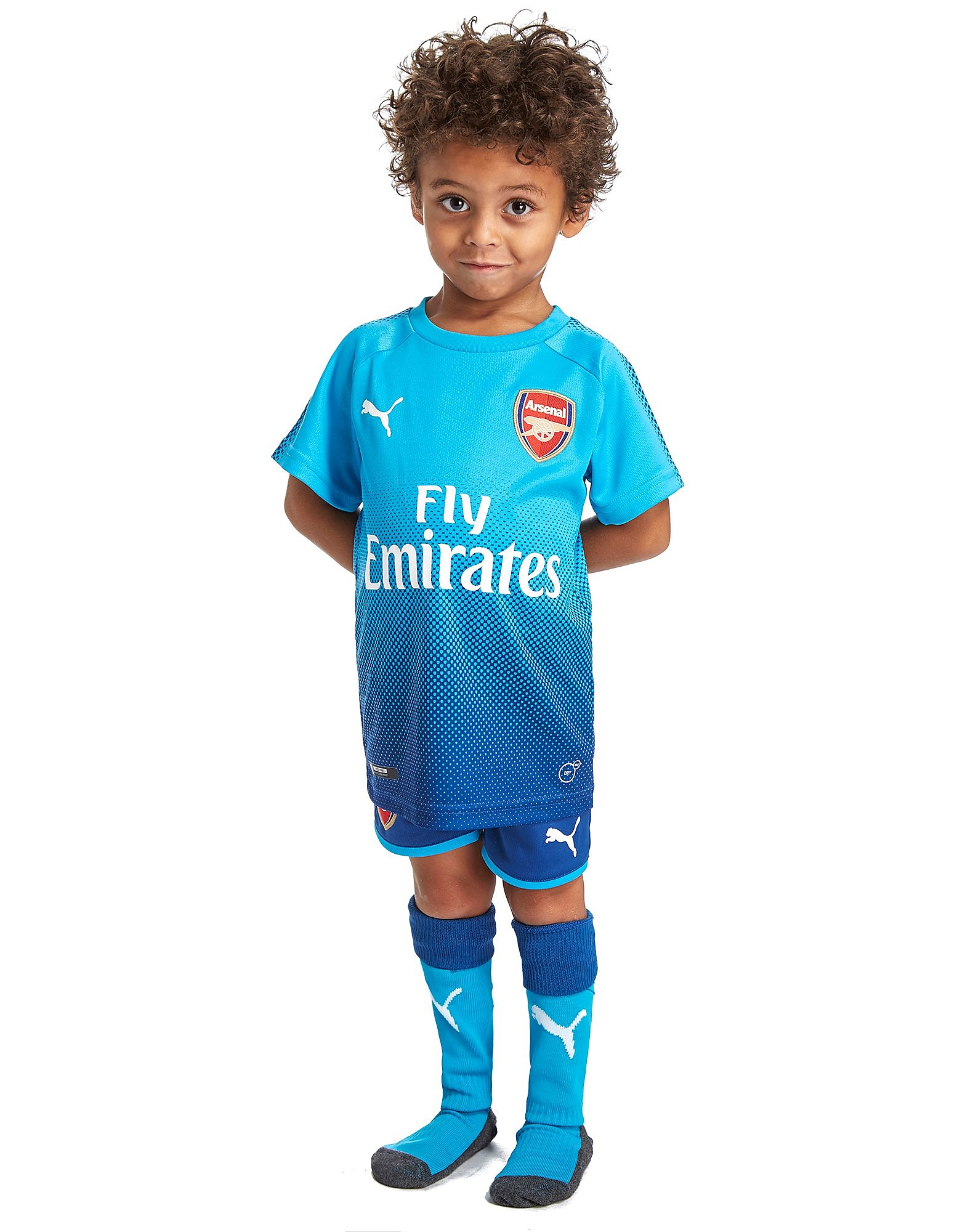 PUMA Arsenal FC 2017/18 Away Kit Children