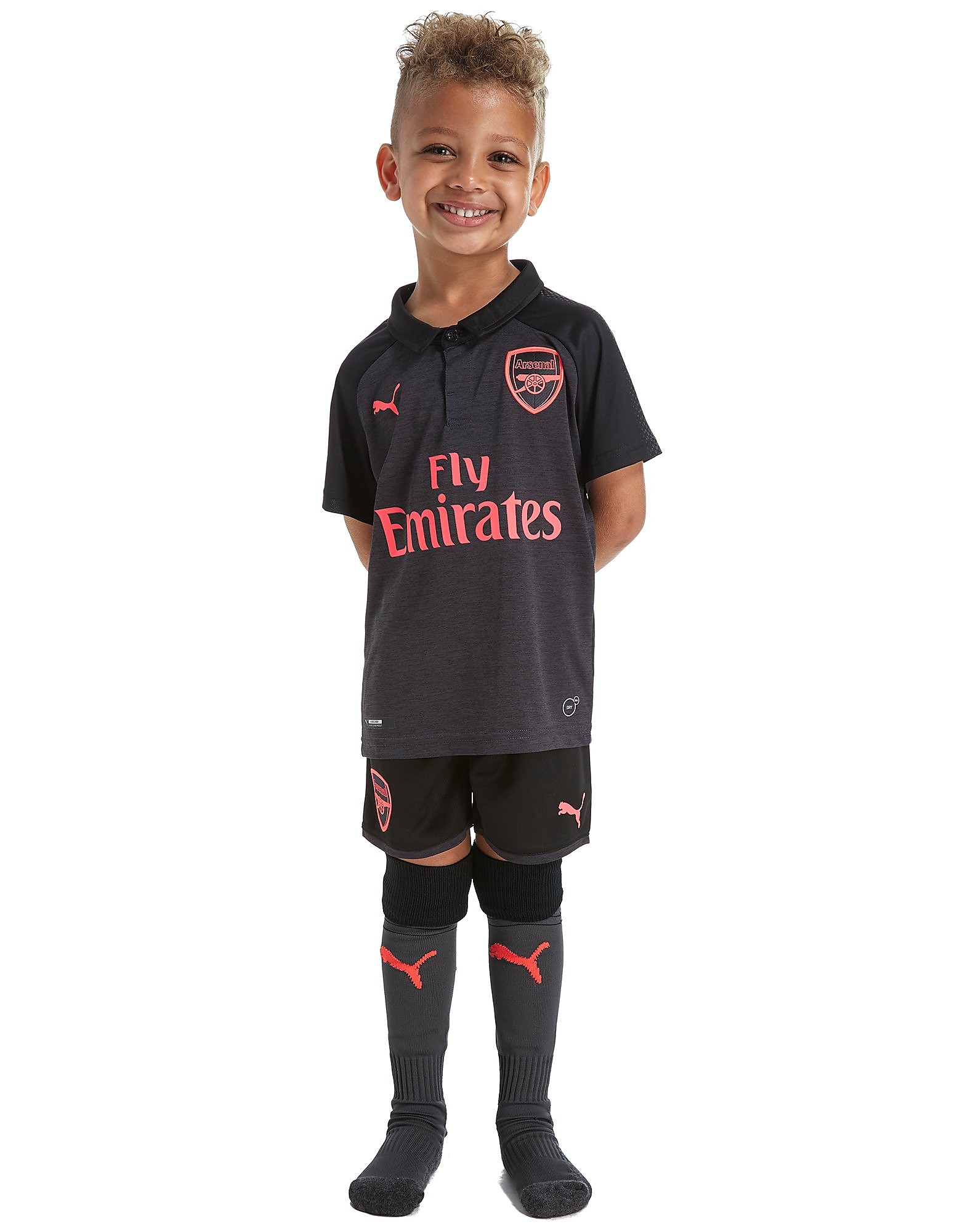 PUMA Arsenal FC 2017/18 Mini Kit Childrens