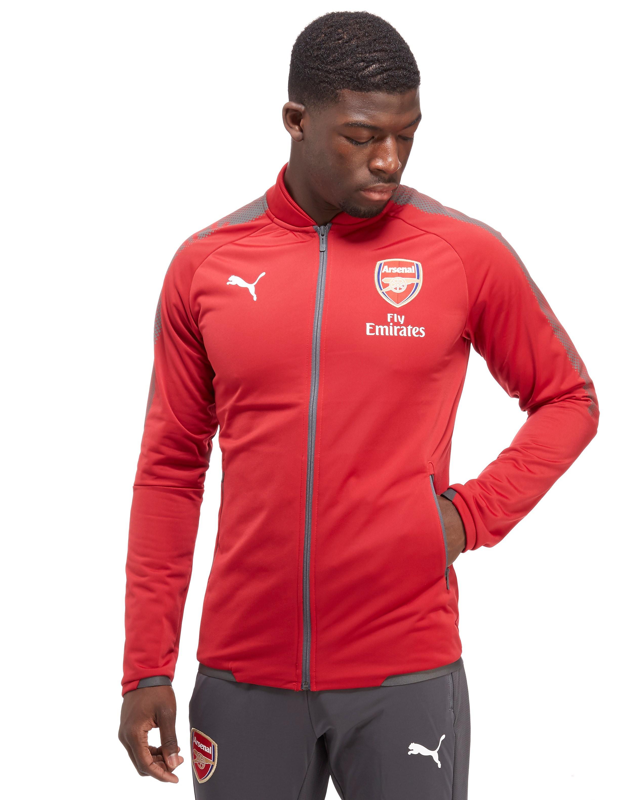 PUMA Arsenal FC 2017 Stadium Jacket - Rood - Heren