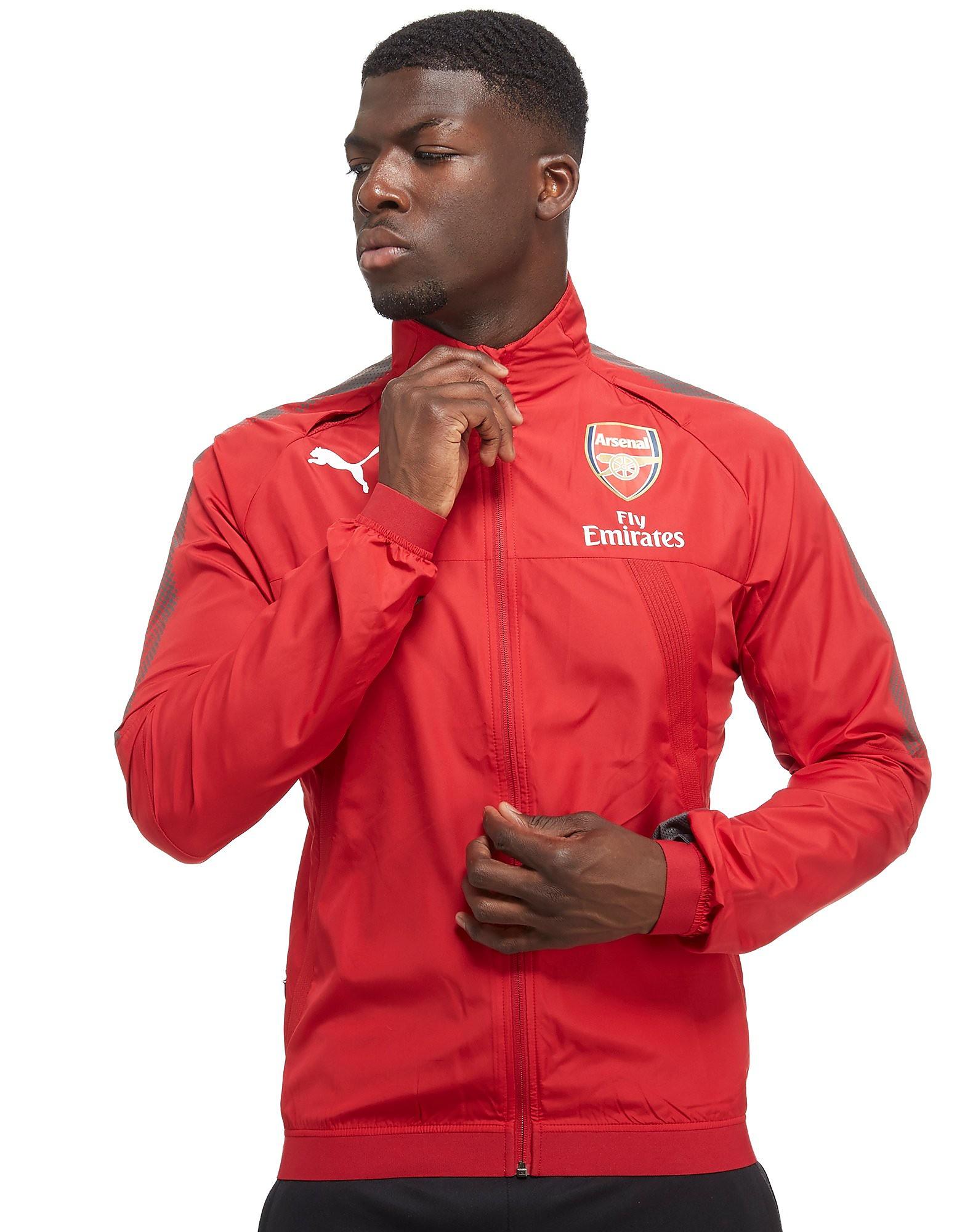 PUMA Arsenal FC 2017 Stadium Ventilation Jacket