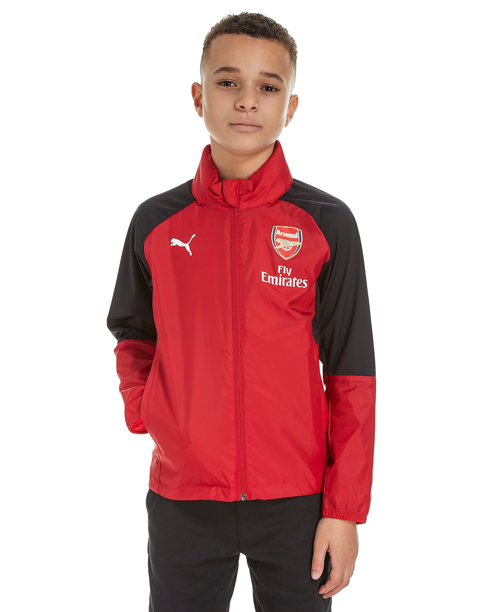 PUMA Arsenal FC 2017 Rain Jacket Junior