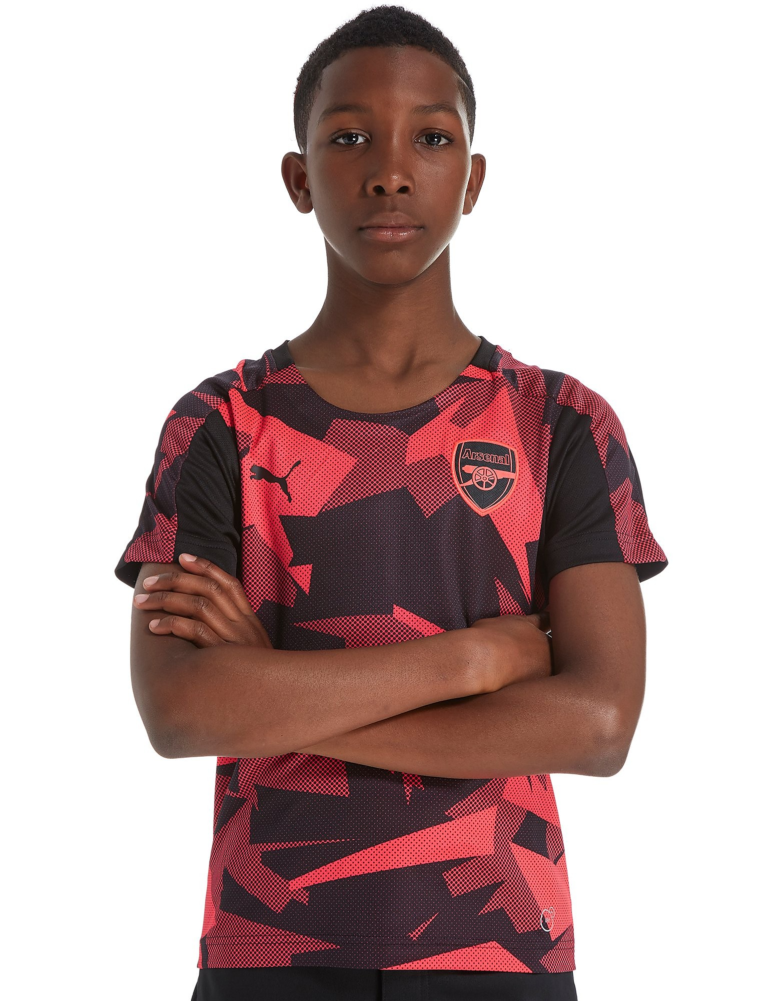 PUMA Arsenal FC 2017 Stadium Shirt Junior