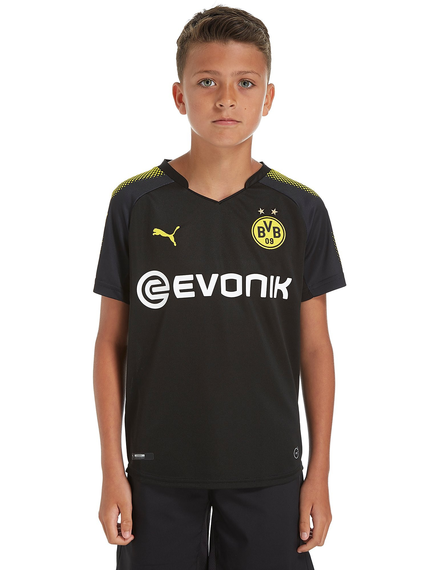 PUMA Borussia Dortmund 2017/18 Away Shirt Junior