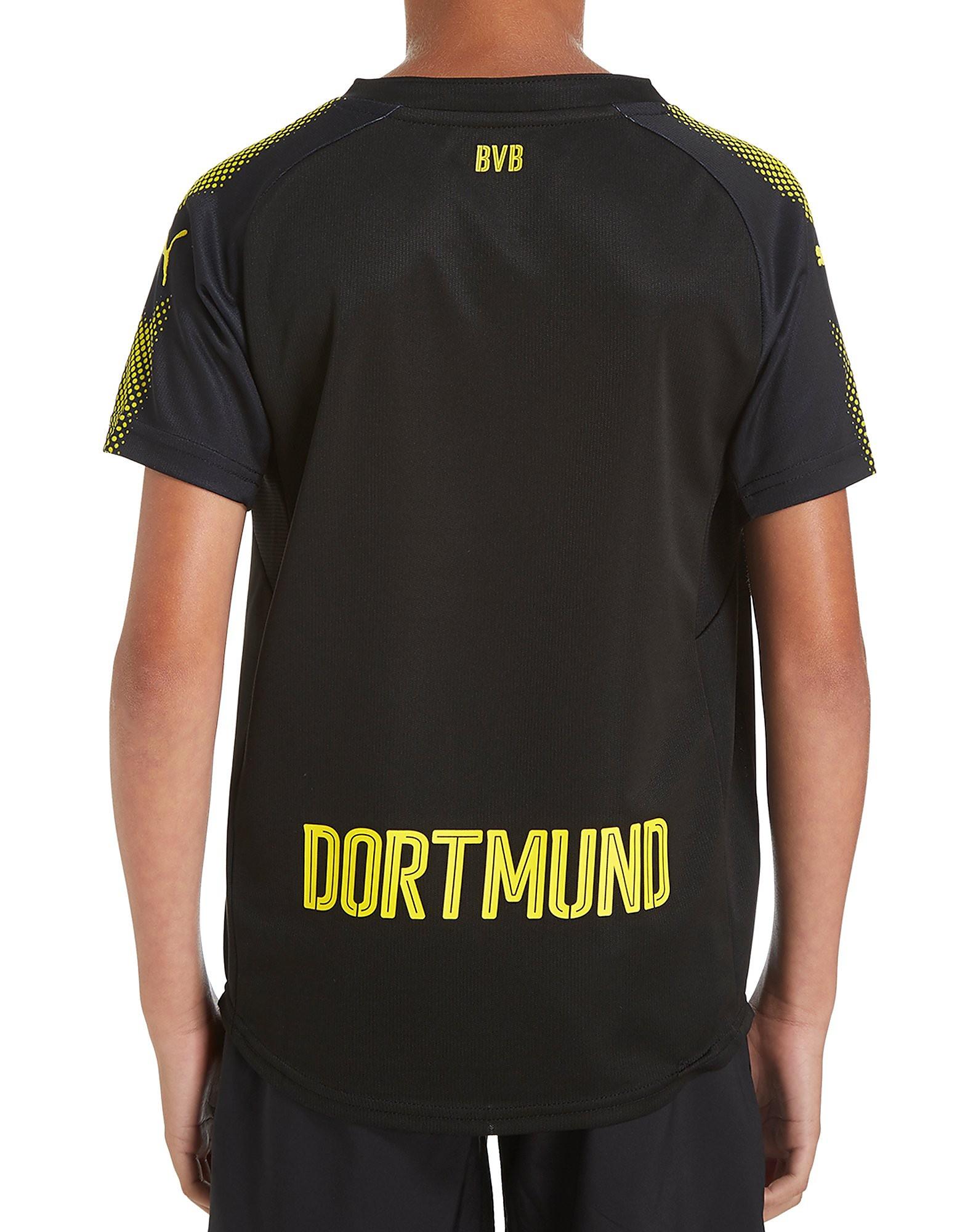 PUMA Borussia Dortmund 2017/18 Away Shirt Junior