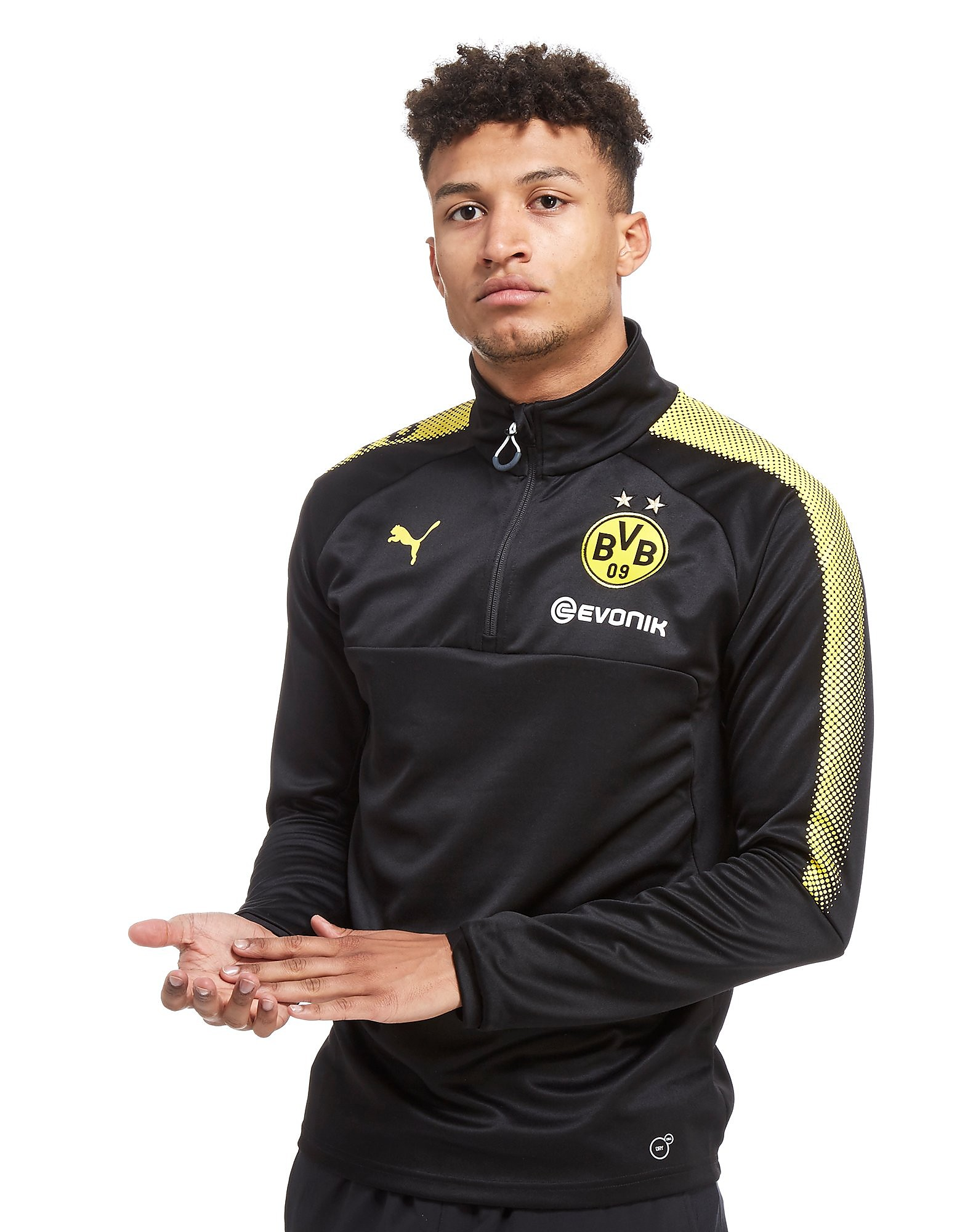 Image of   PUMA Borussia Dortmund 2017 Quarter Zip Training Top