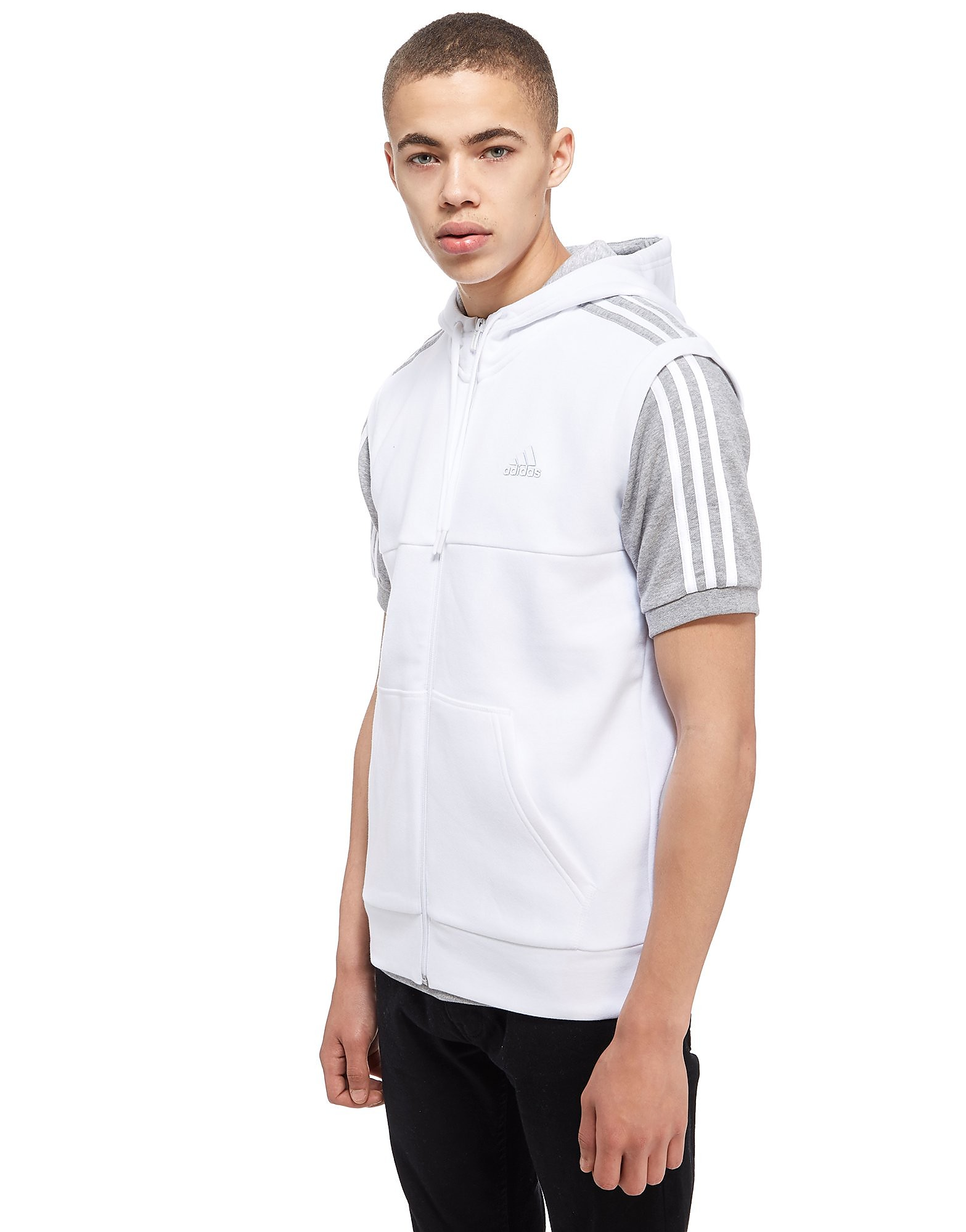 adidas Linear Sleeveless Hoody