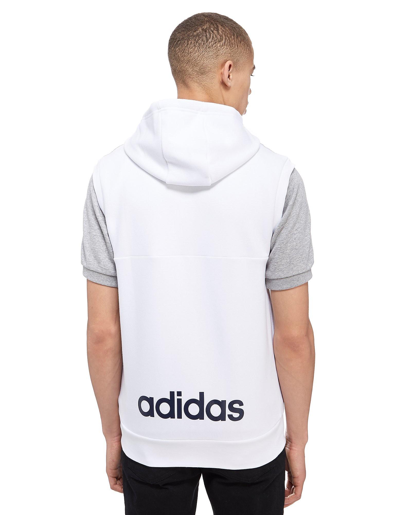 adidas Linear Sleeveless Hoody