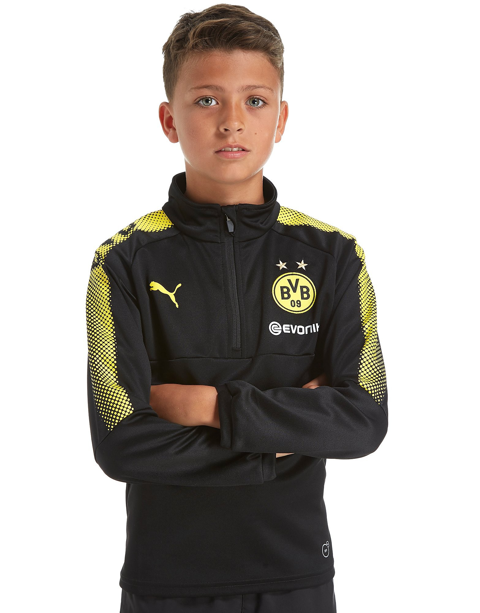 PUMA Borussia Dortmund 2017 Zip Top Junior