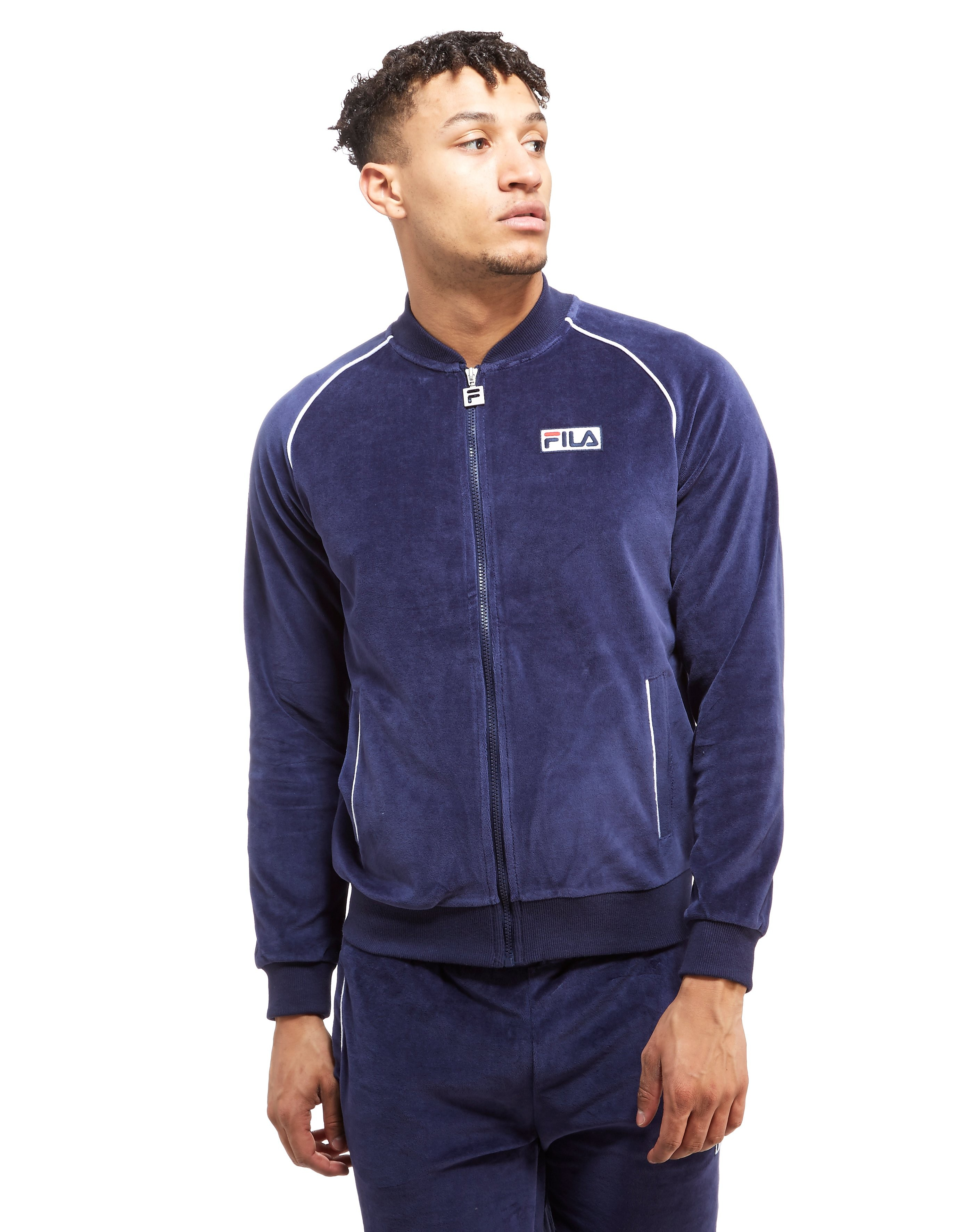 Image of   Fila Gioni Velour Track Top - Only at JD