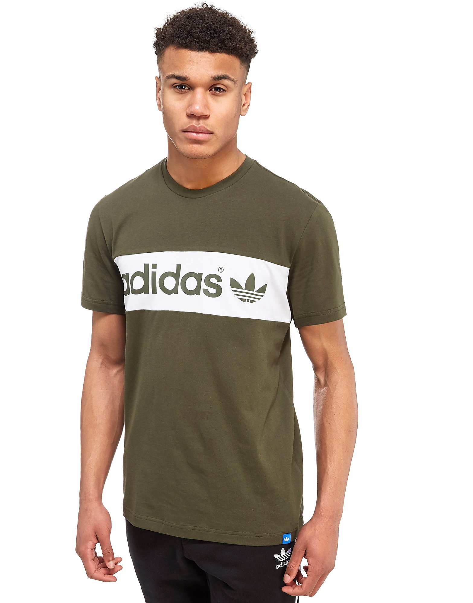 adidas Originals Linear Colour Block T-Shirt