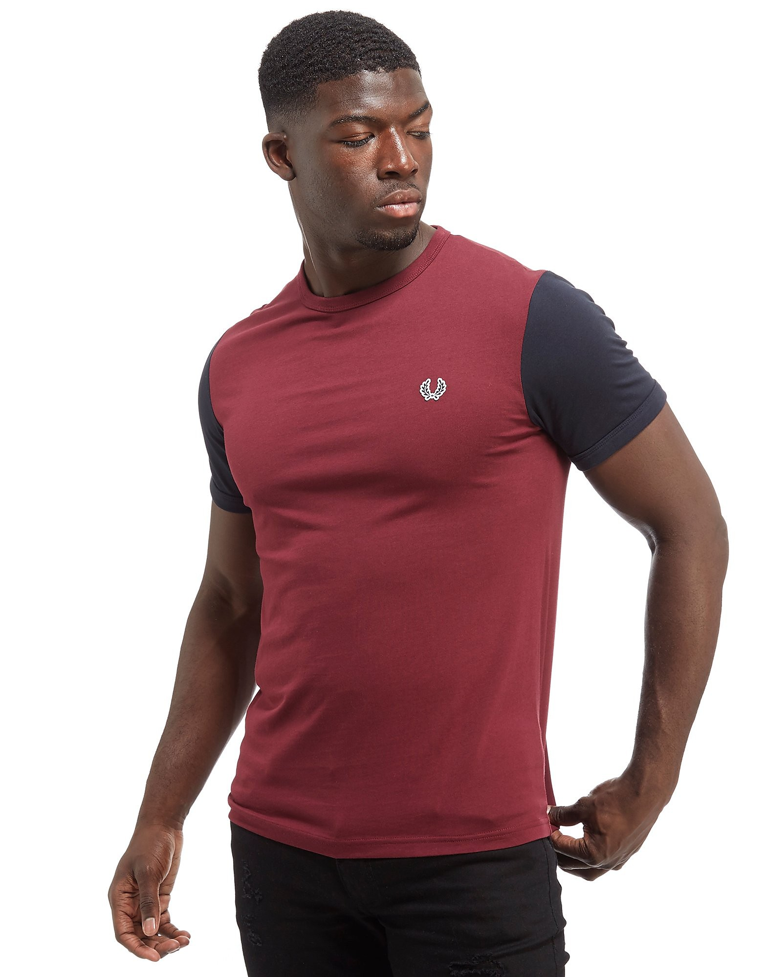 Fred Perry Contrast T-Shirt