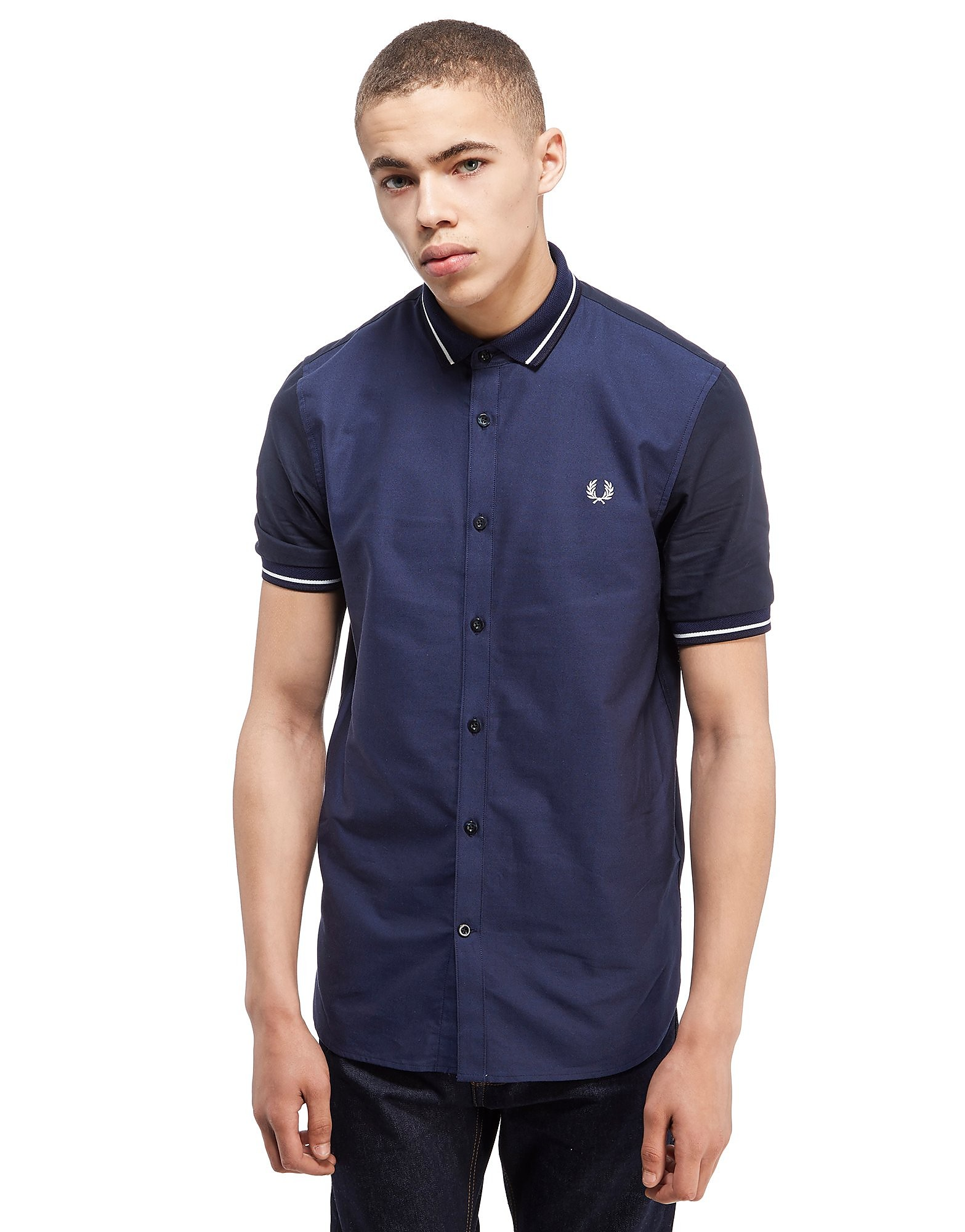 Fred Perry Knit Collar Shirt