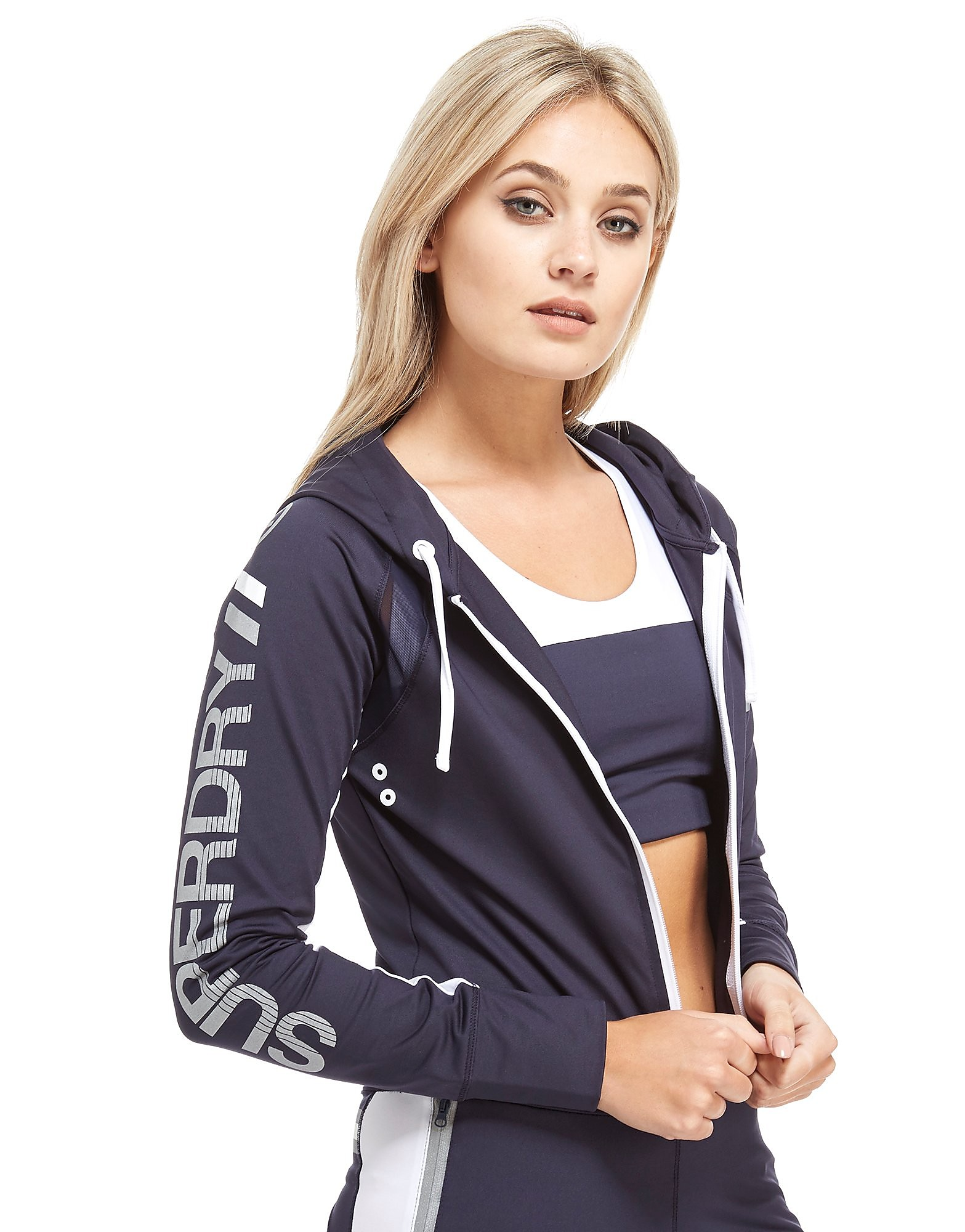 Superdry Speed Full-Zip Hoodie Dames