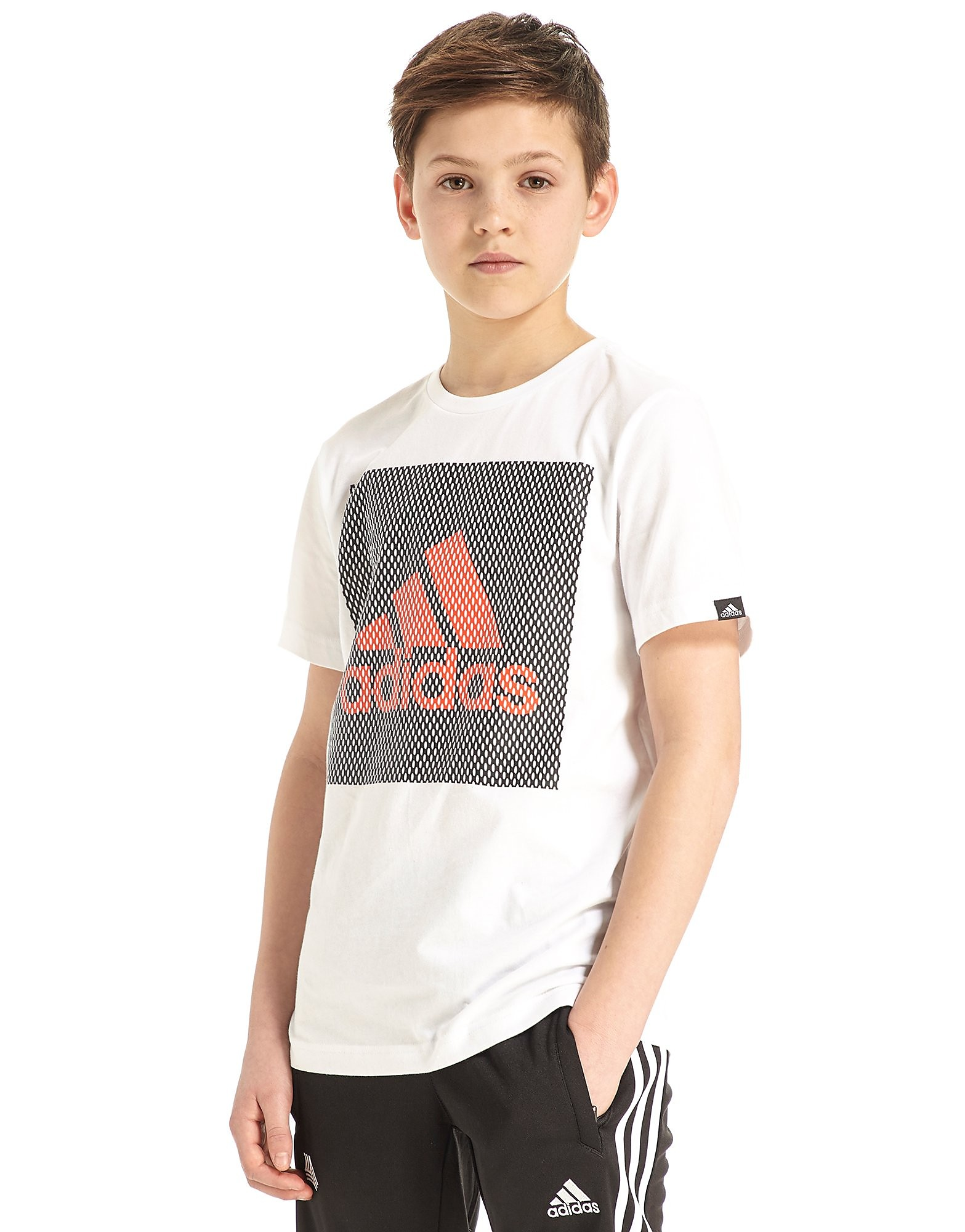 adidas Mesh Box T-Shirt Junior