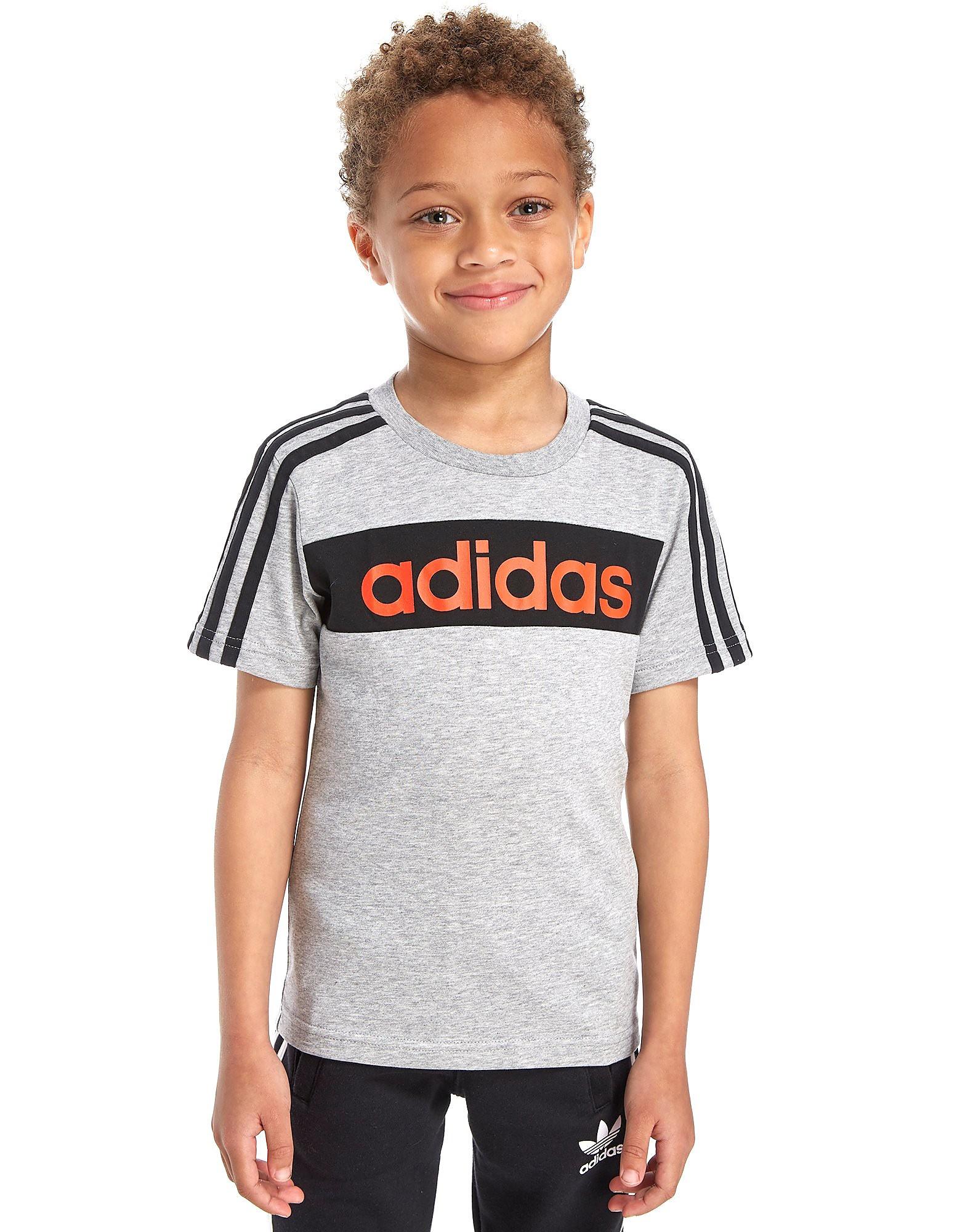 adidas Linear T-Shirt Children