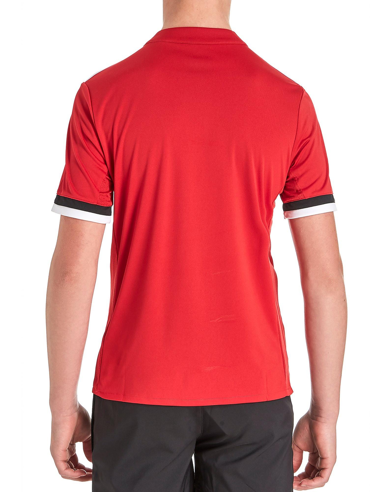 adidas Manchester United 2017/18 Home Shirt Junior