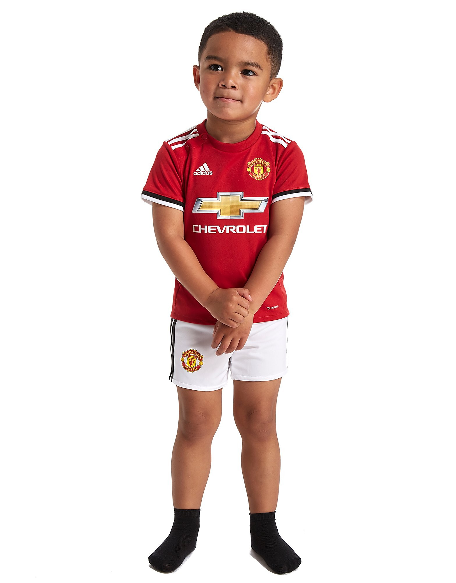 adidas Manchester United 2017/18 Home Kit Infant