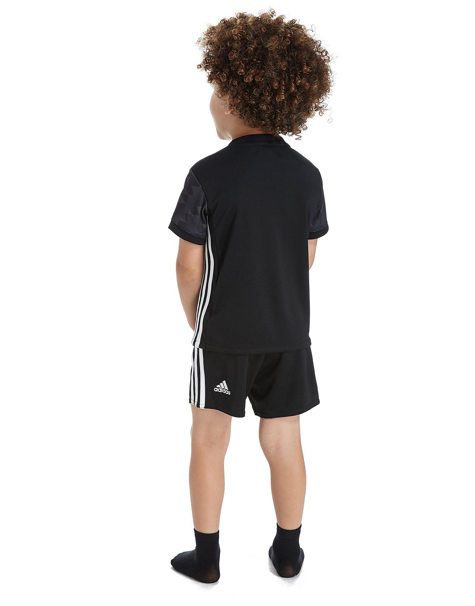 adidas conjunto Manchester United FC 2017 2.ª equipación para bebé