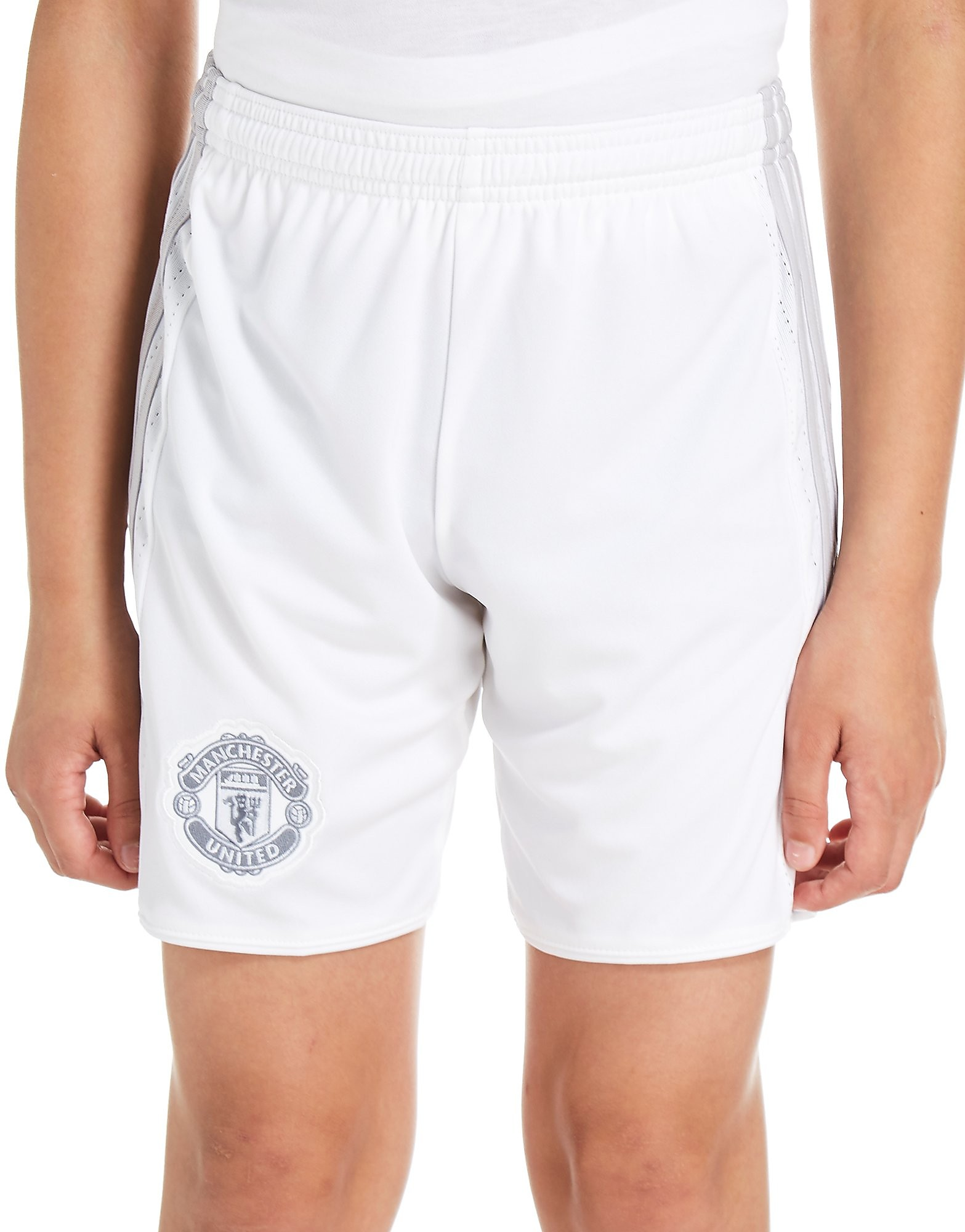 adidas Manchester United 2017/18 Third Shorts Jnr PRE ORD