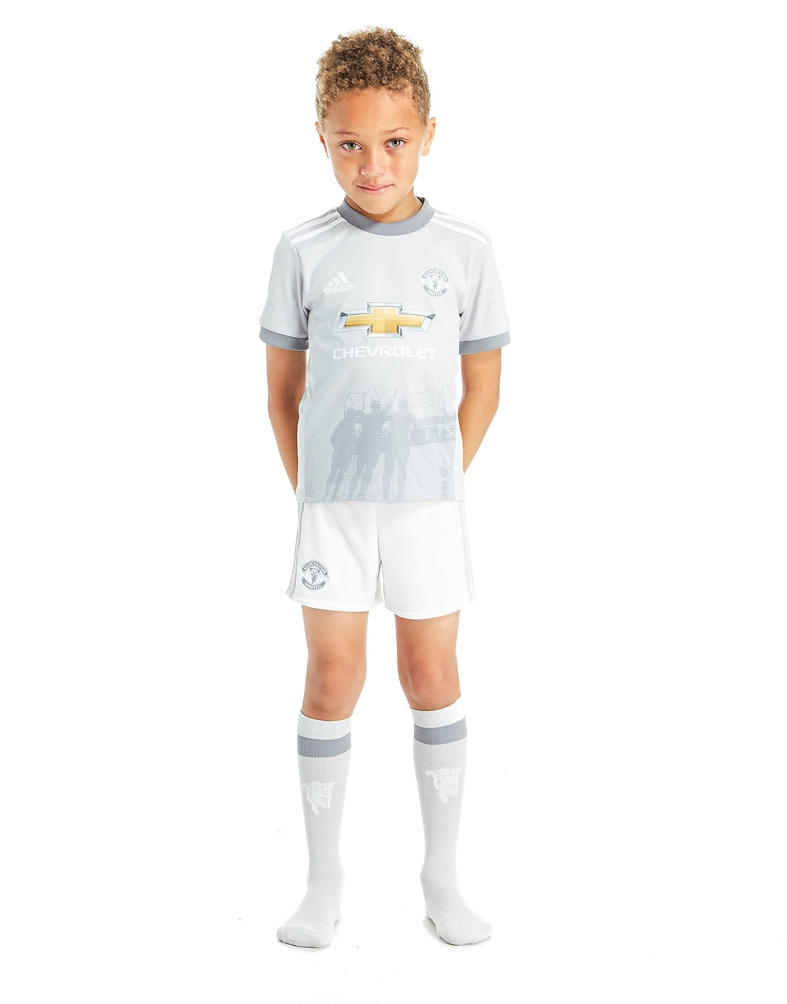 adidas Manchester United 2017/18 Third Kit Children