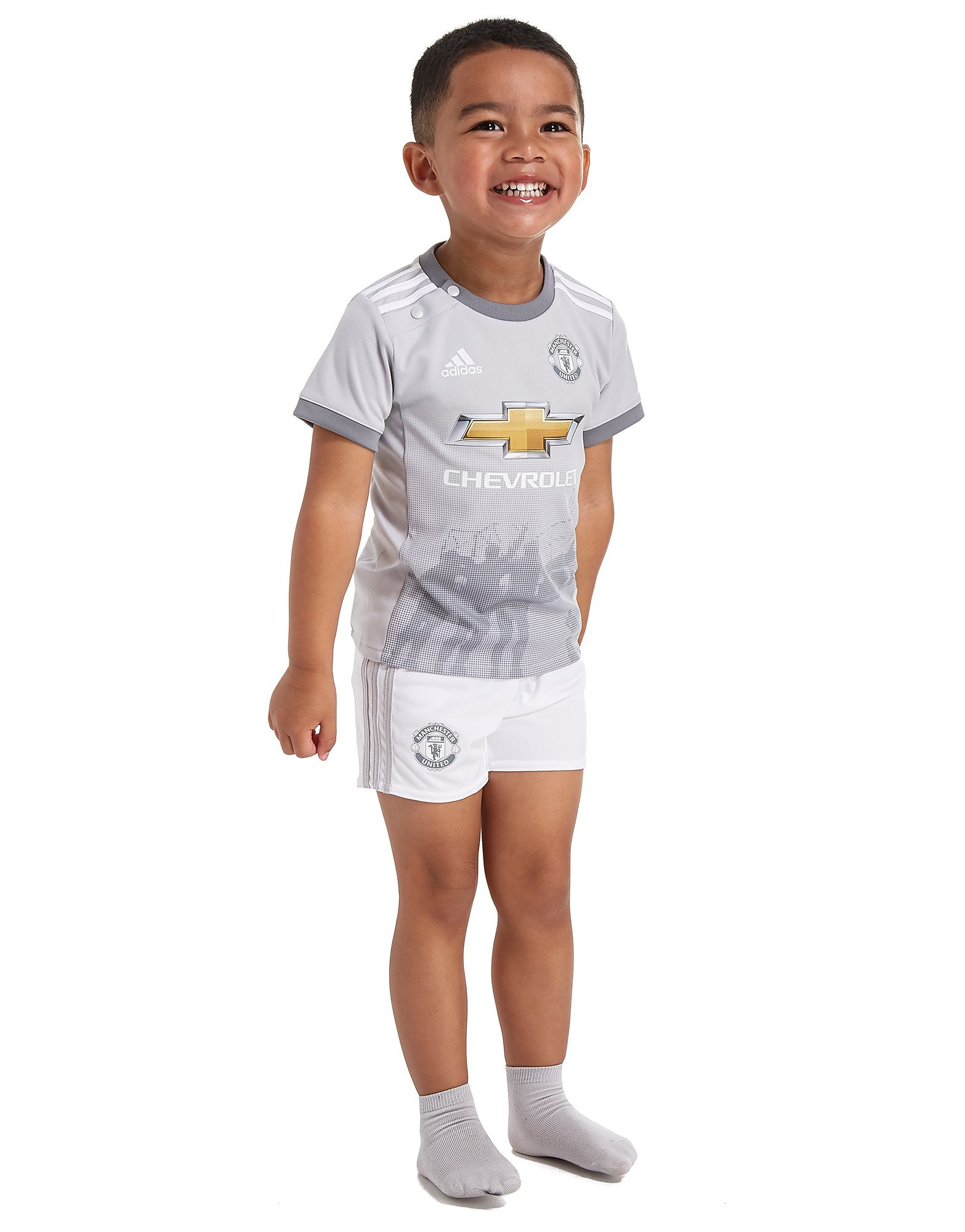 adidas Manchester United 2017/18 Third Kit Infant PRE ORD