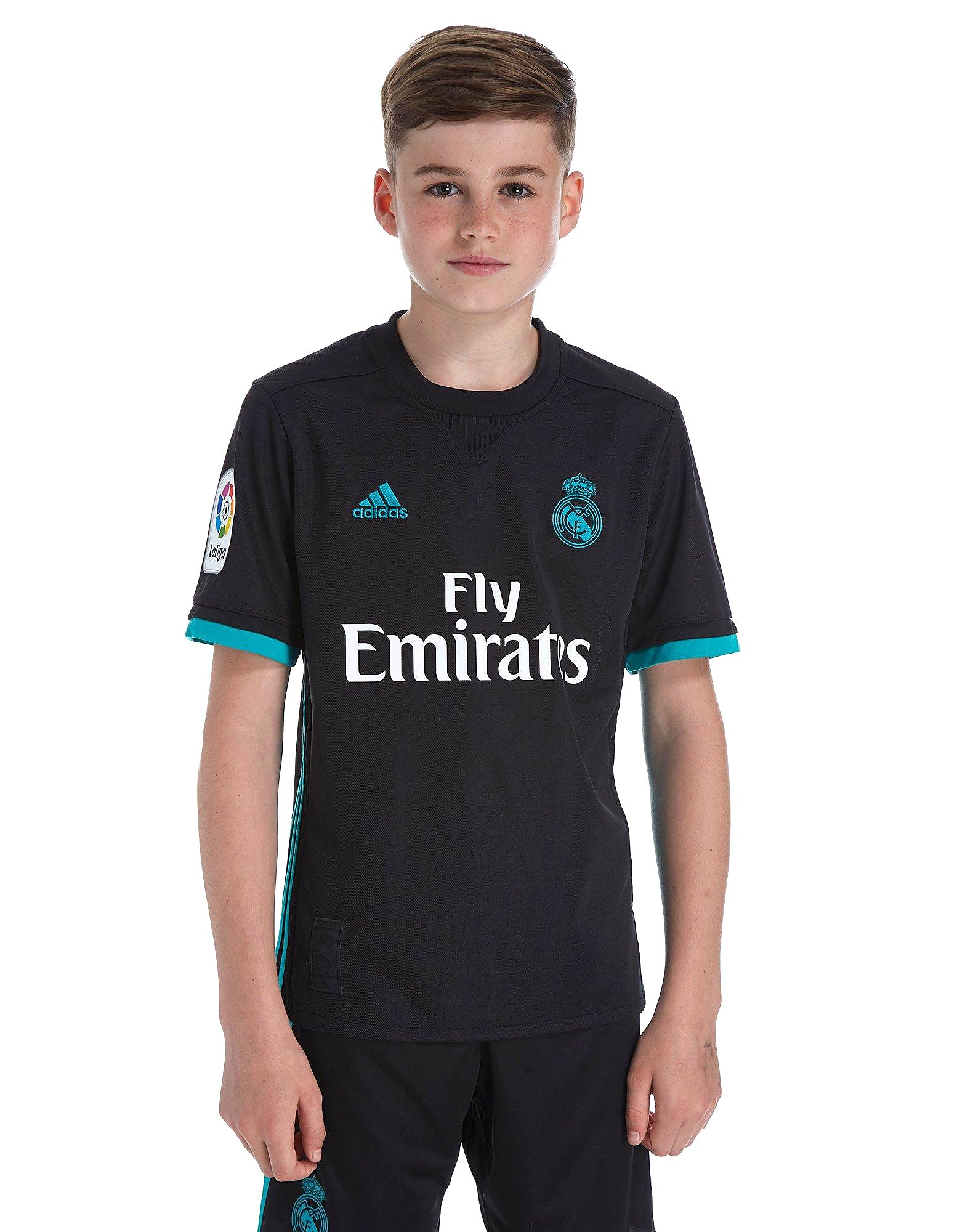 adidas Real Madrid 2017/18 Away Shirt Kinderen