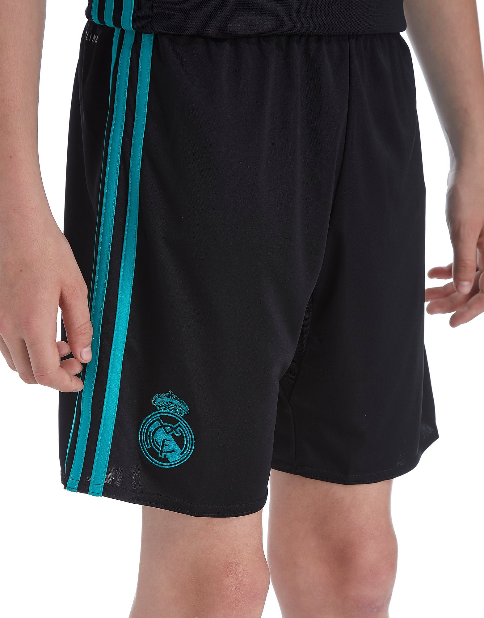 adidas Real Madrid 2017/18 Away Shorts Kinderen