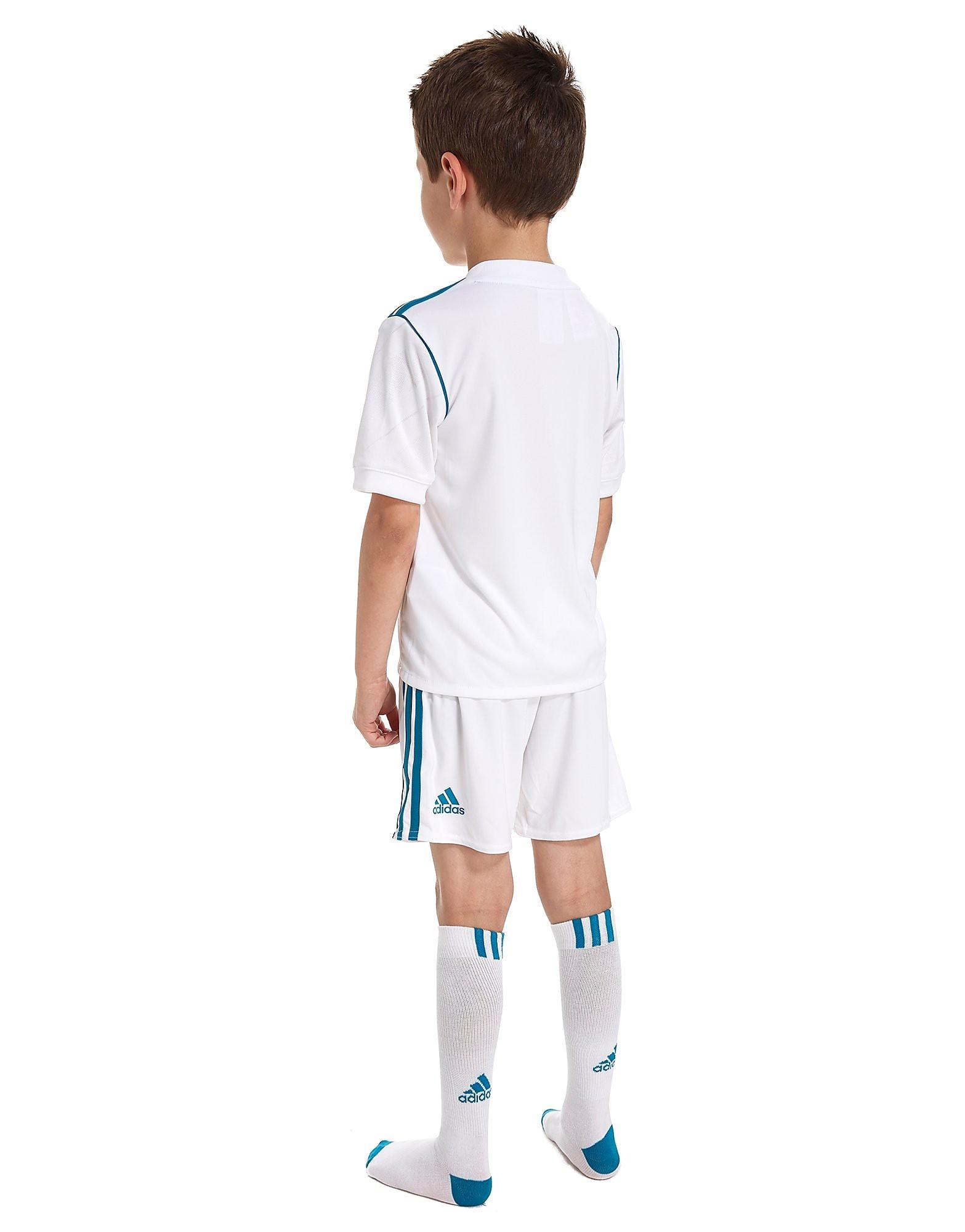 adidas Real Madrid 2017/18 Home Kit Children
