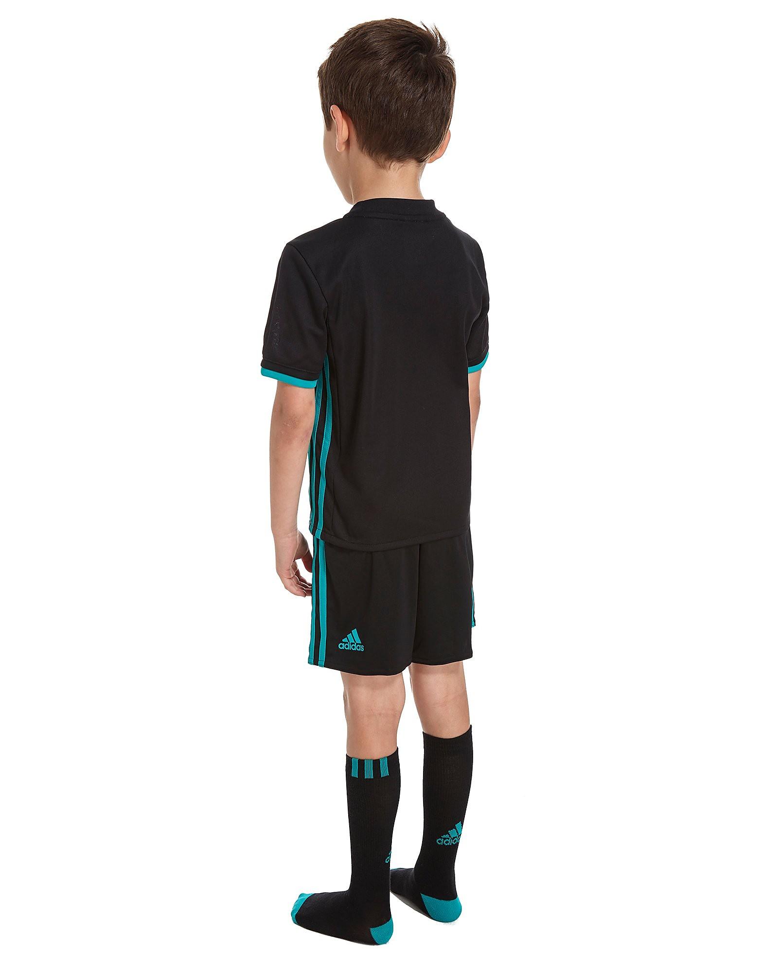 adidas Real Madrid 2017/18 Away Kit Children