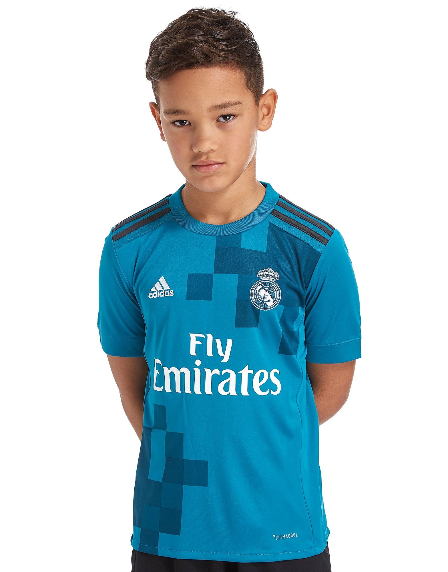 adidas Real Madrid 2017/18 Third Shirt Junior
