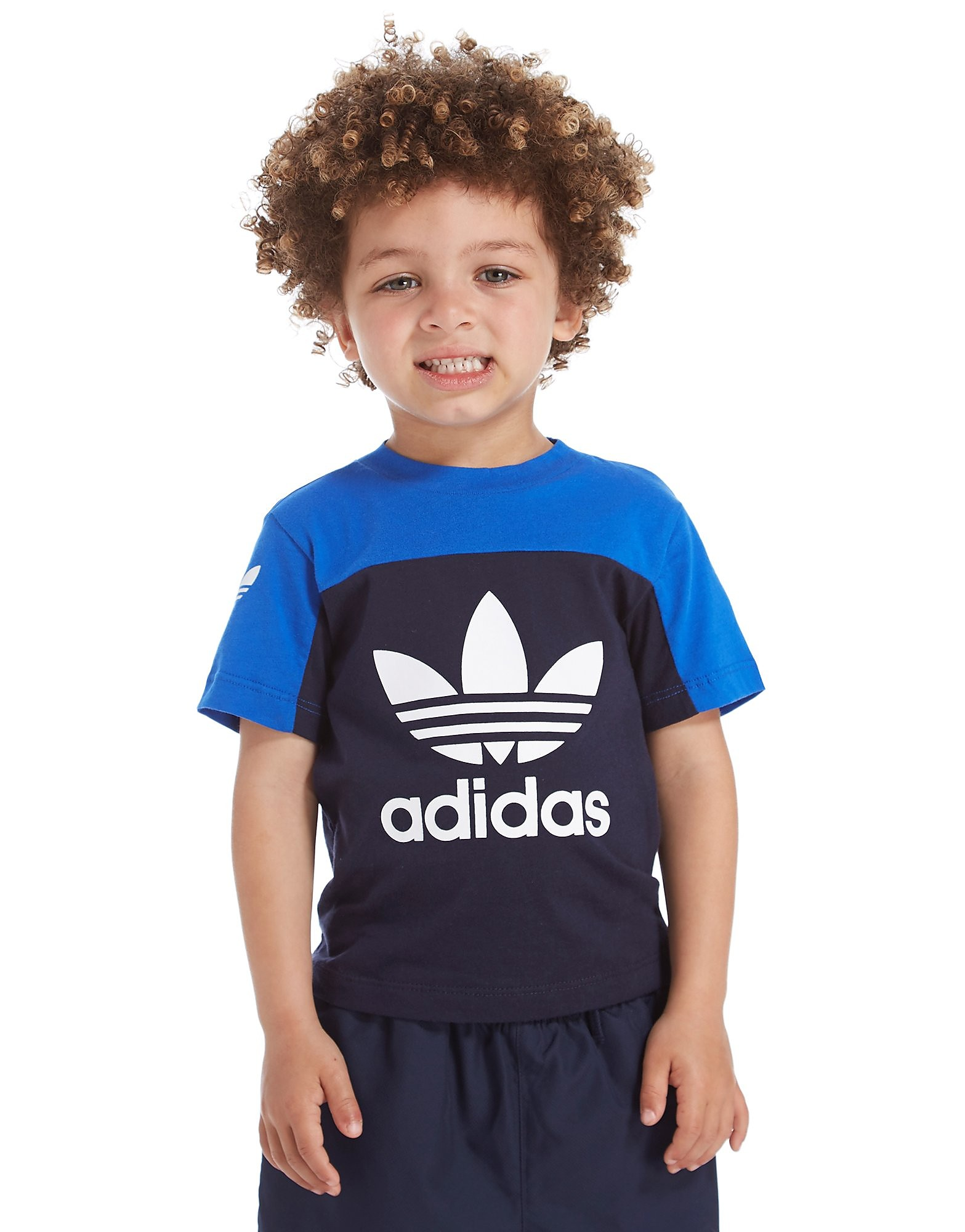 adidas Originals Trefoil Colour Block T-Shirt Infant