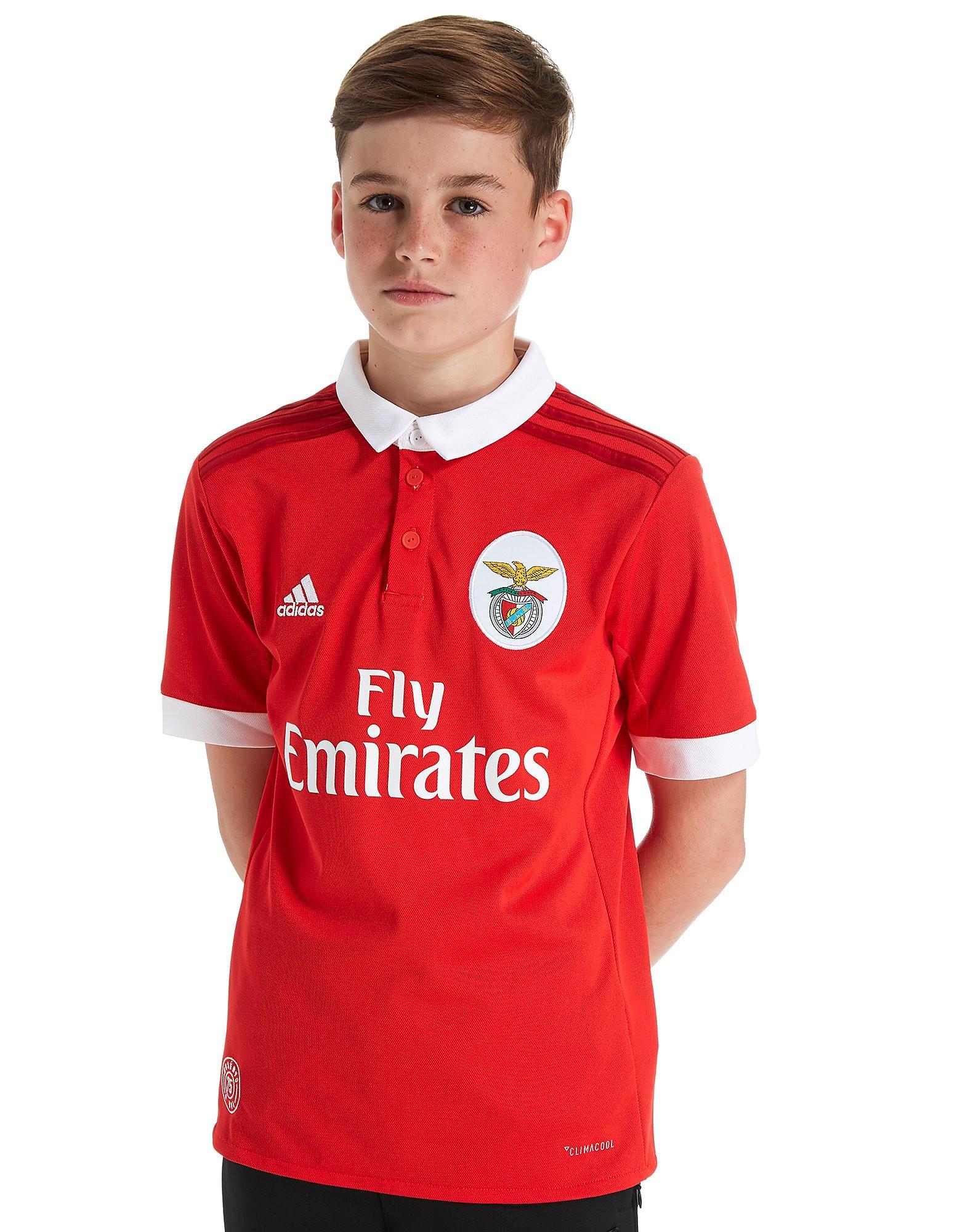 adidas Benfica 2017/18 Home Shirt Junior