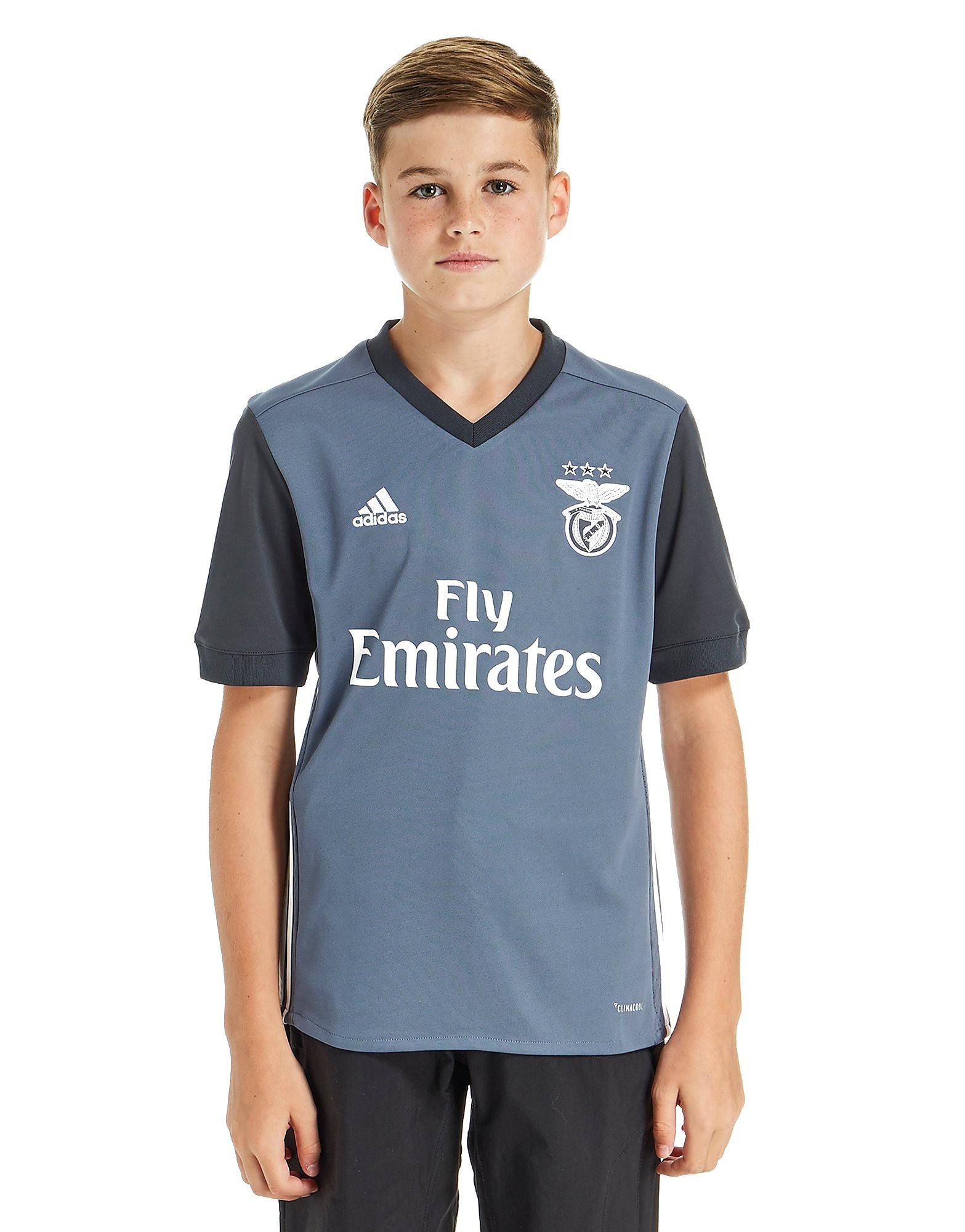 adidas Benfica 2017/18 Away Shirt Junior