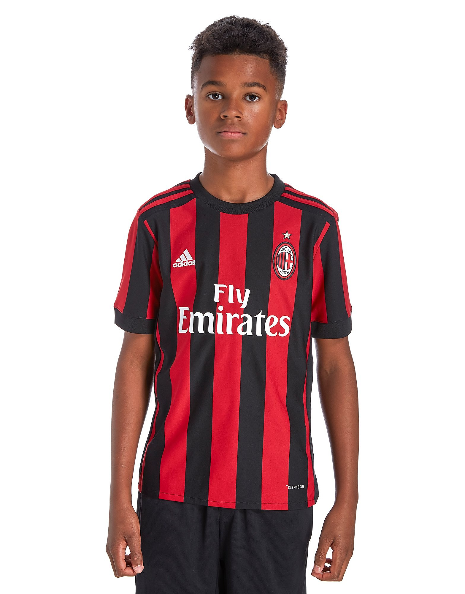 adidas AC Milan 2017/18 Home Shirt Junior PRE ORDER