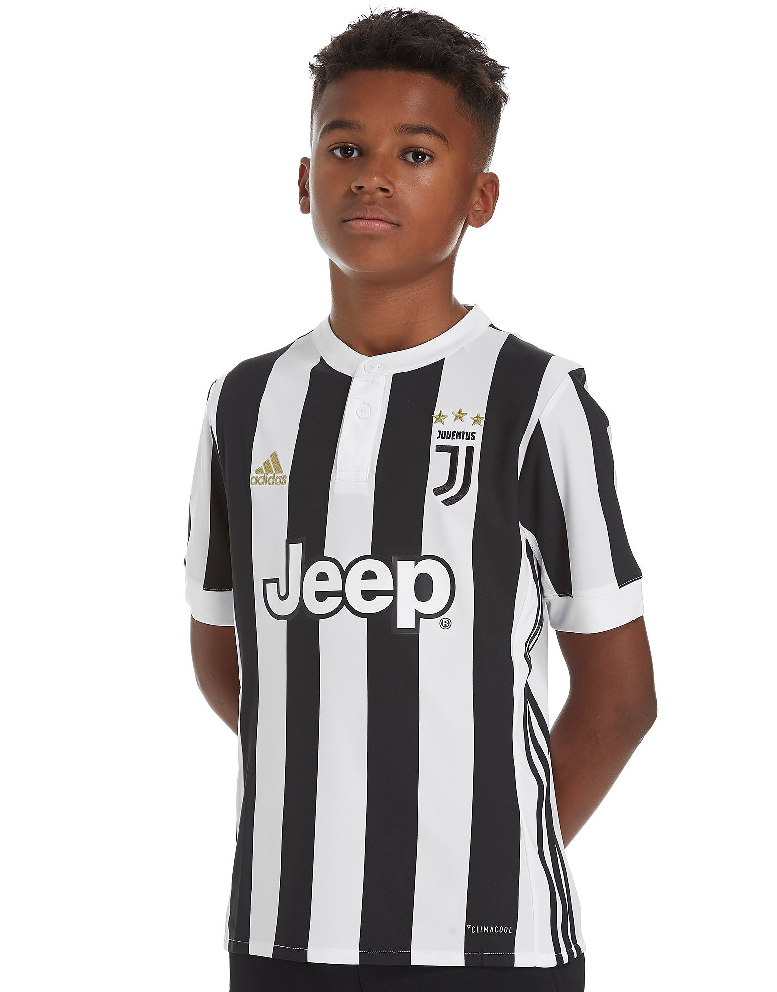 adidas Juventus 2017/18 Home Shirt Junior