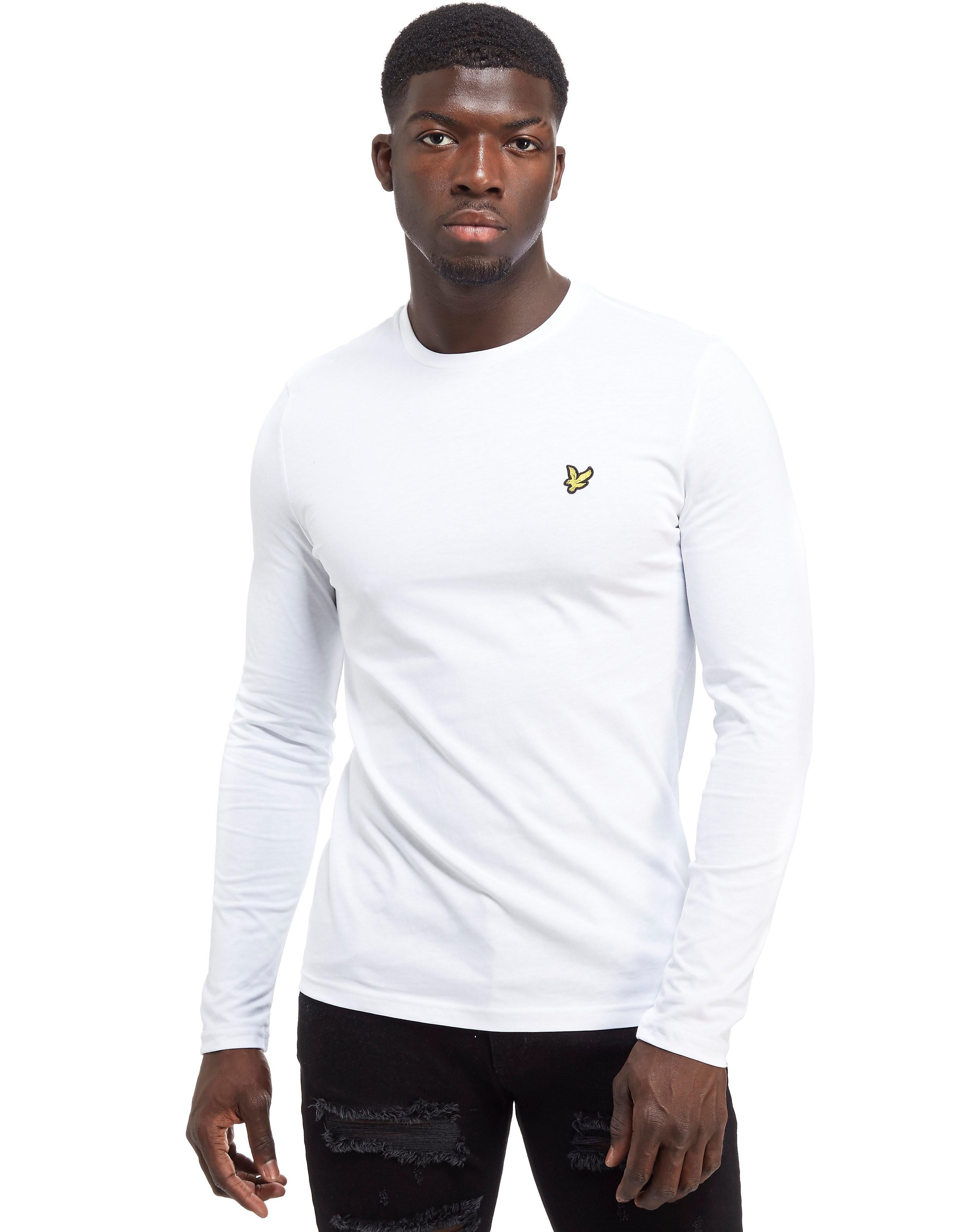 Lyle & Scott Classic Long Sleeve T-Shirt - Wit - Heren