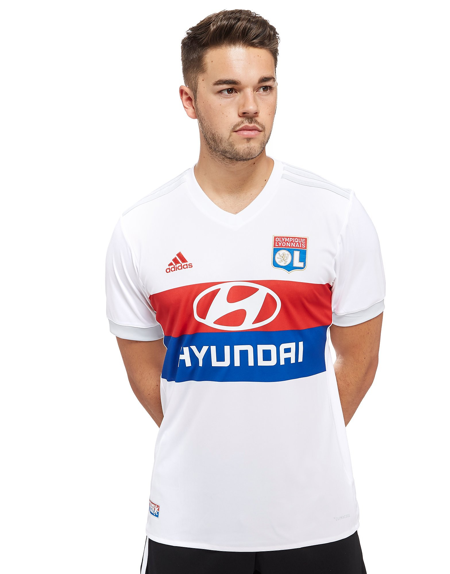 adidas Olympique Lyon 2017/18 Home Shirt