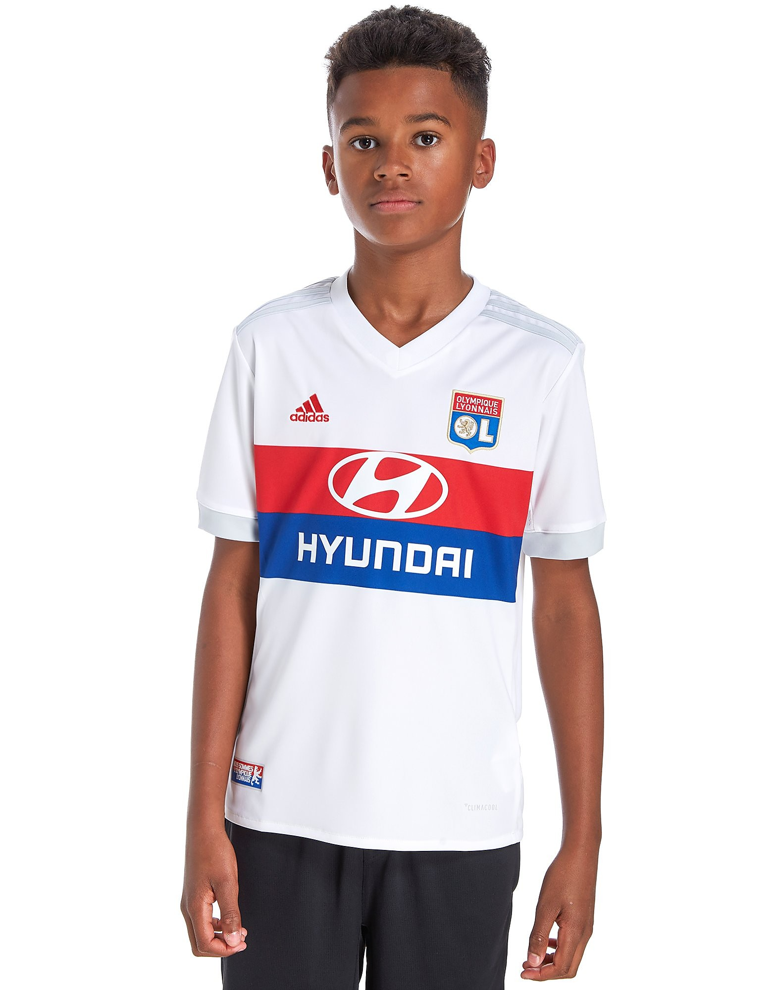 adidas Olympique Lyon 2017/18 Home Shirt Junior