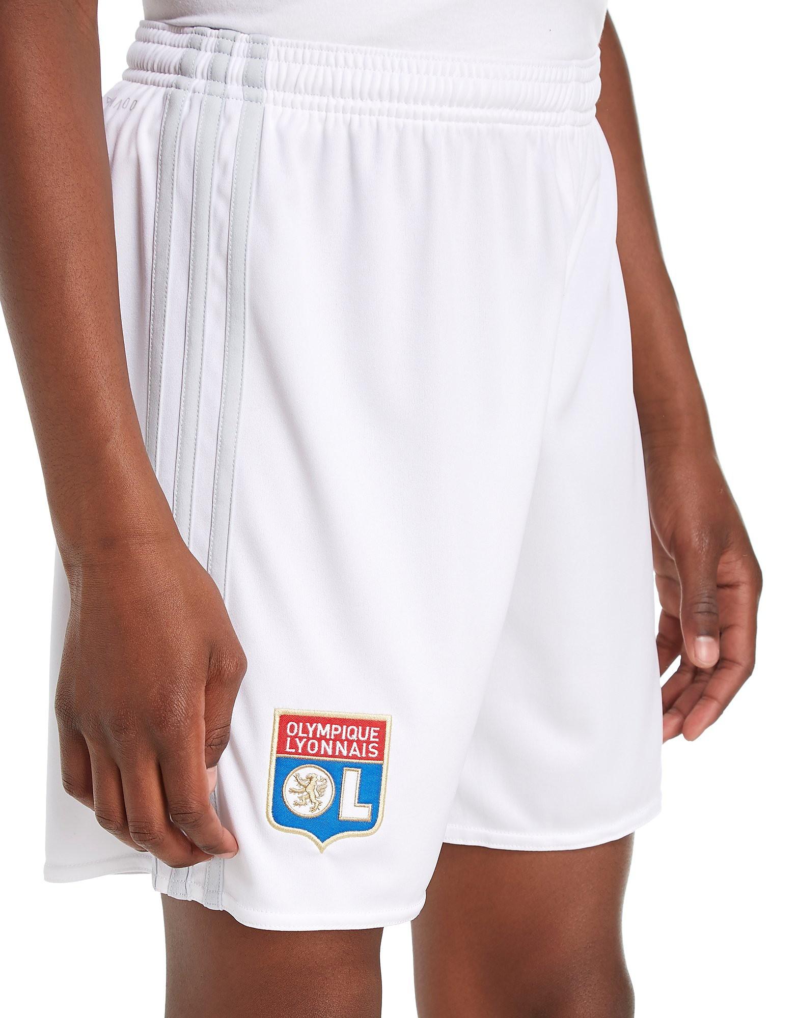 adidas Olympique Lyon 2017/18 Home Shorts Junior