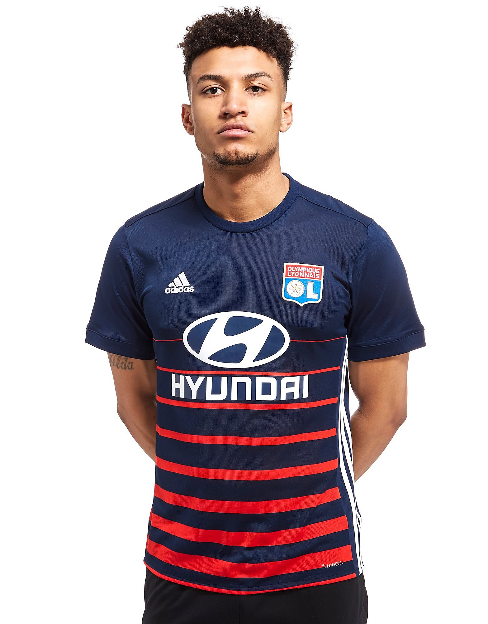 adidas Olympique Lyon 2017/18 Away Shirt
