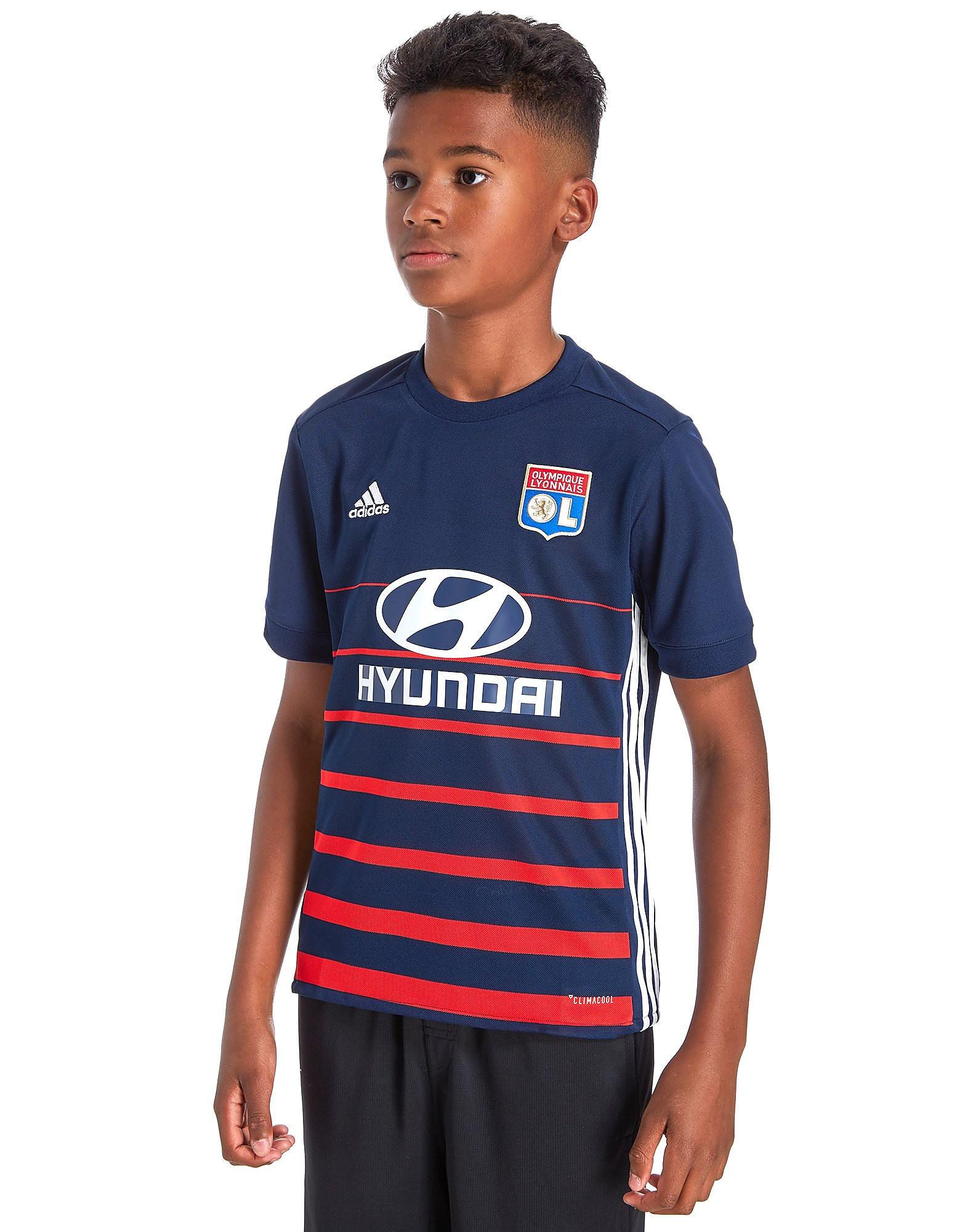 adidas Olympique Lyon 2017/18 Away Shirt Junior
