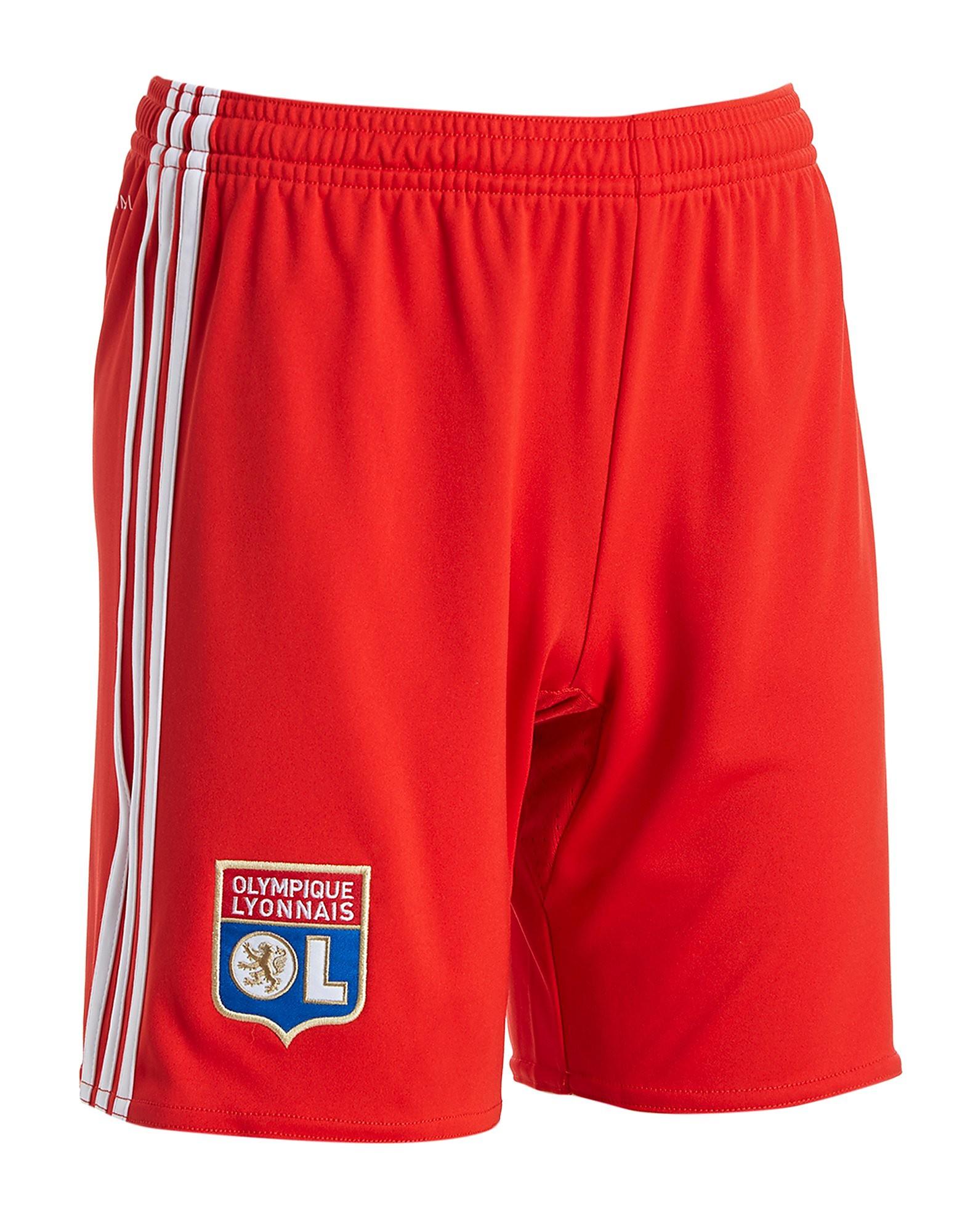 adidas Olympique Lyon 2017/18 Away Shorts Junior