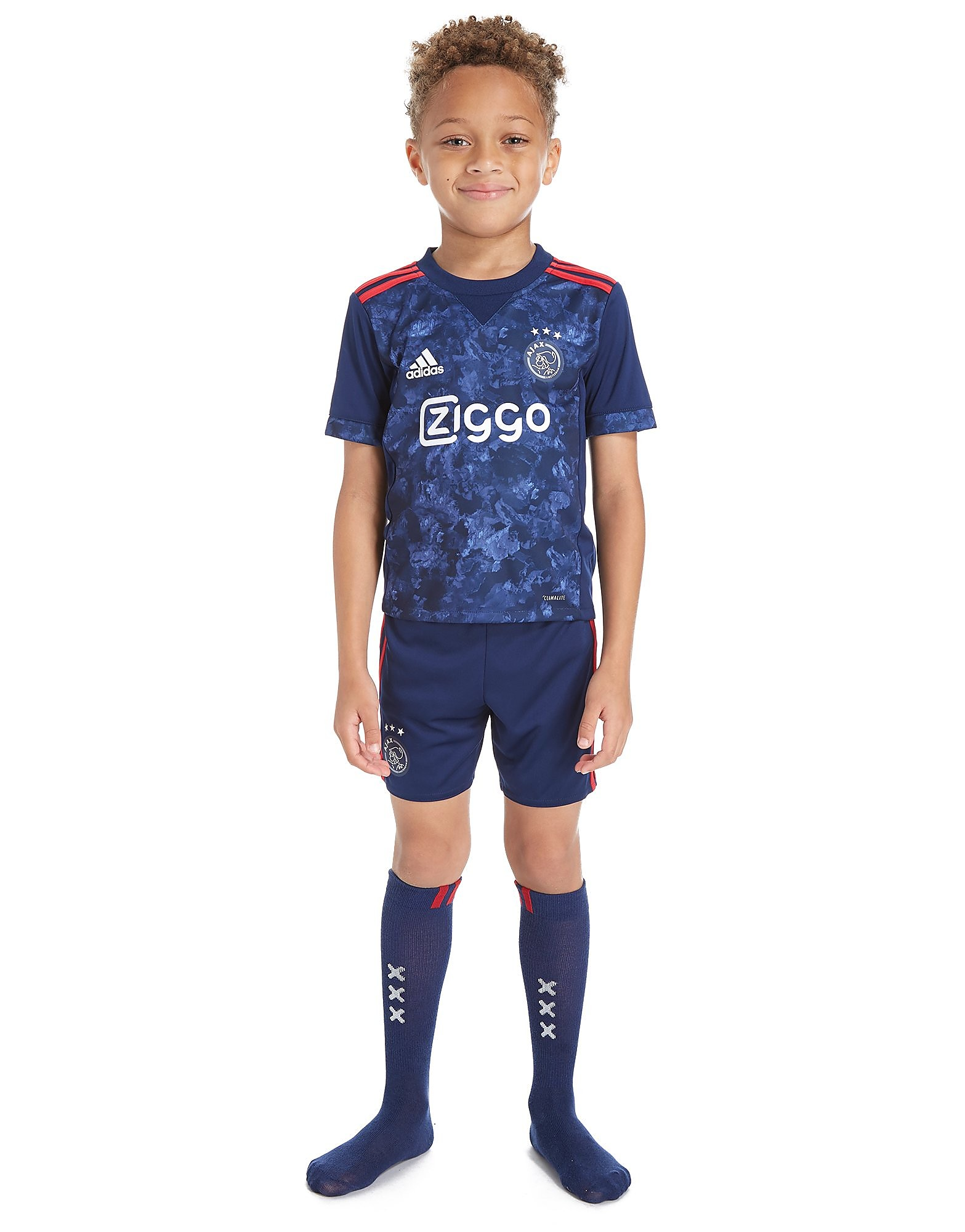 adidas Ajax 2017/18 Away Kit Children