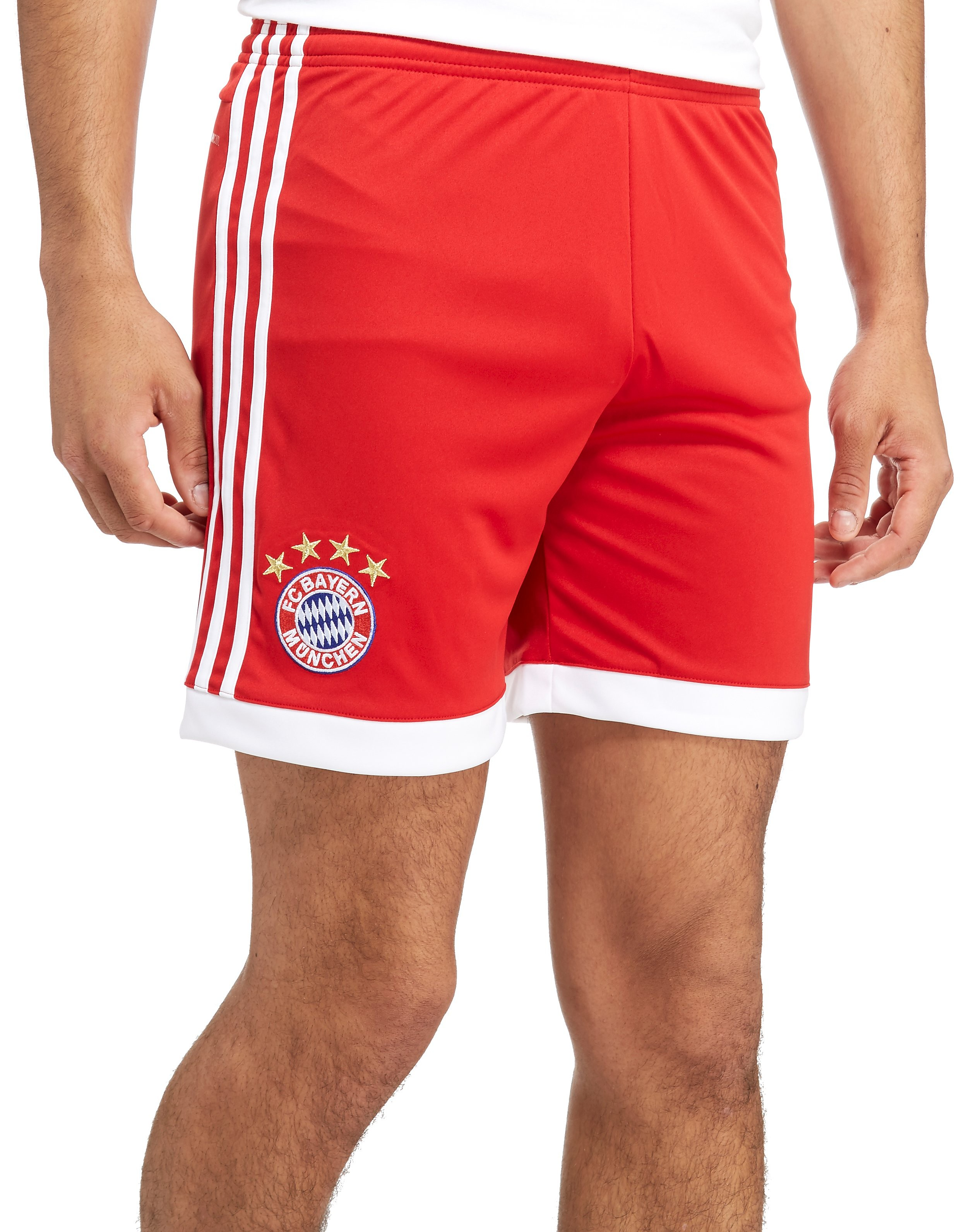 adidas FC Bayern Munich 2017/18 Home Shorts Heren