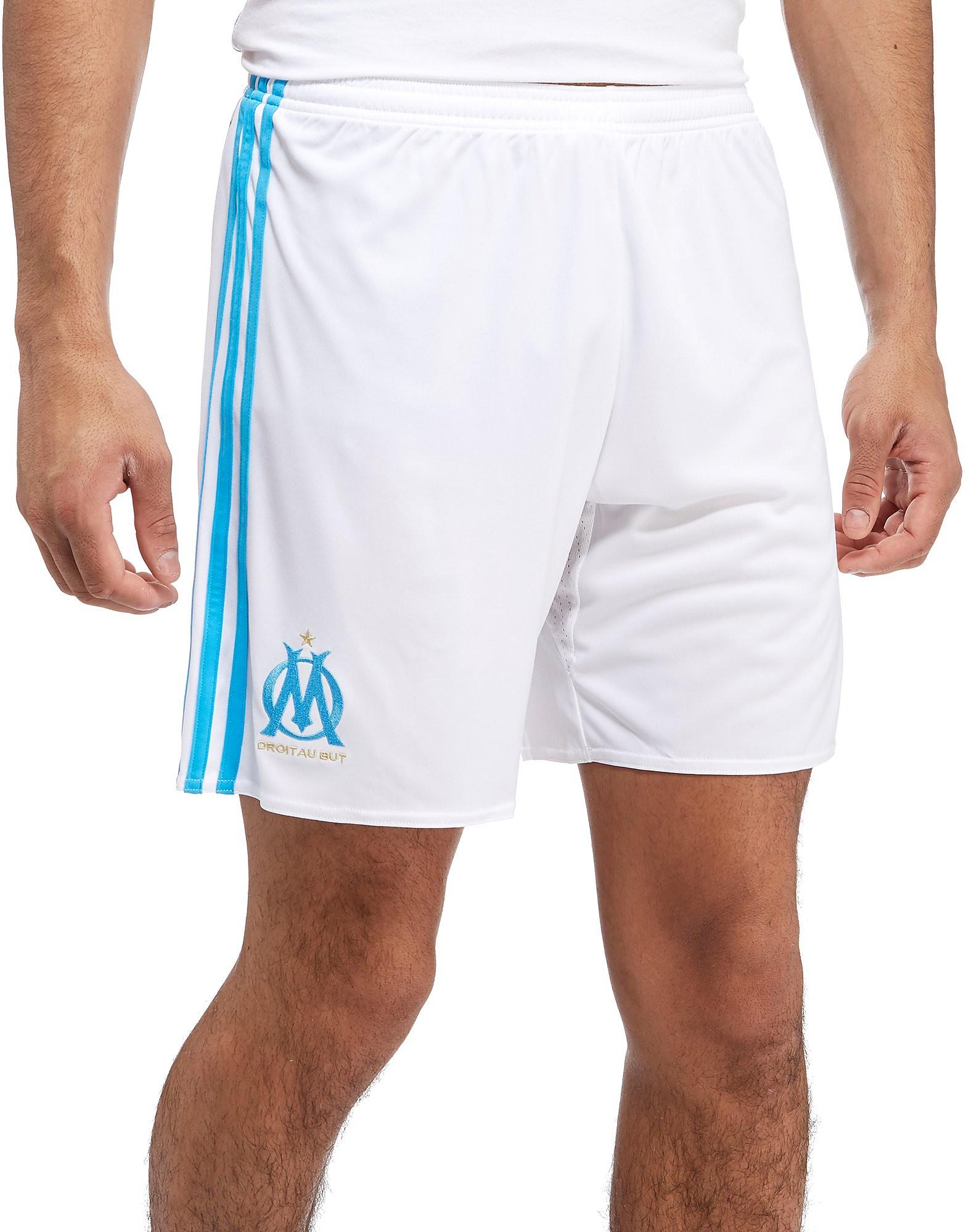 adidas Short Olympique de Marseille 2017/18 Domicile Homme
