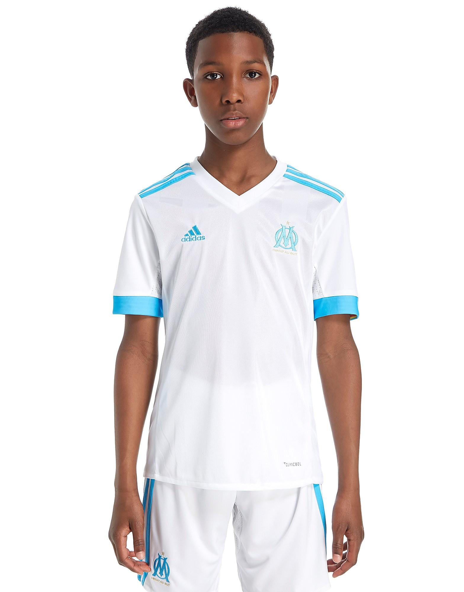adidas Olympique Marseille 2017/18 Home Shirt Junior