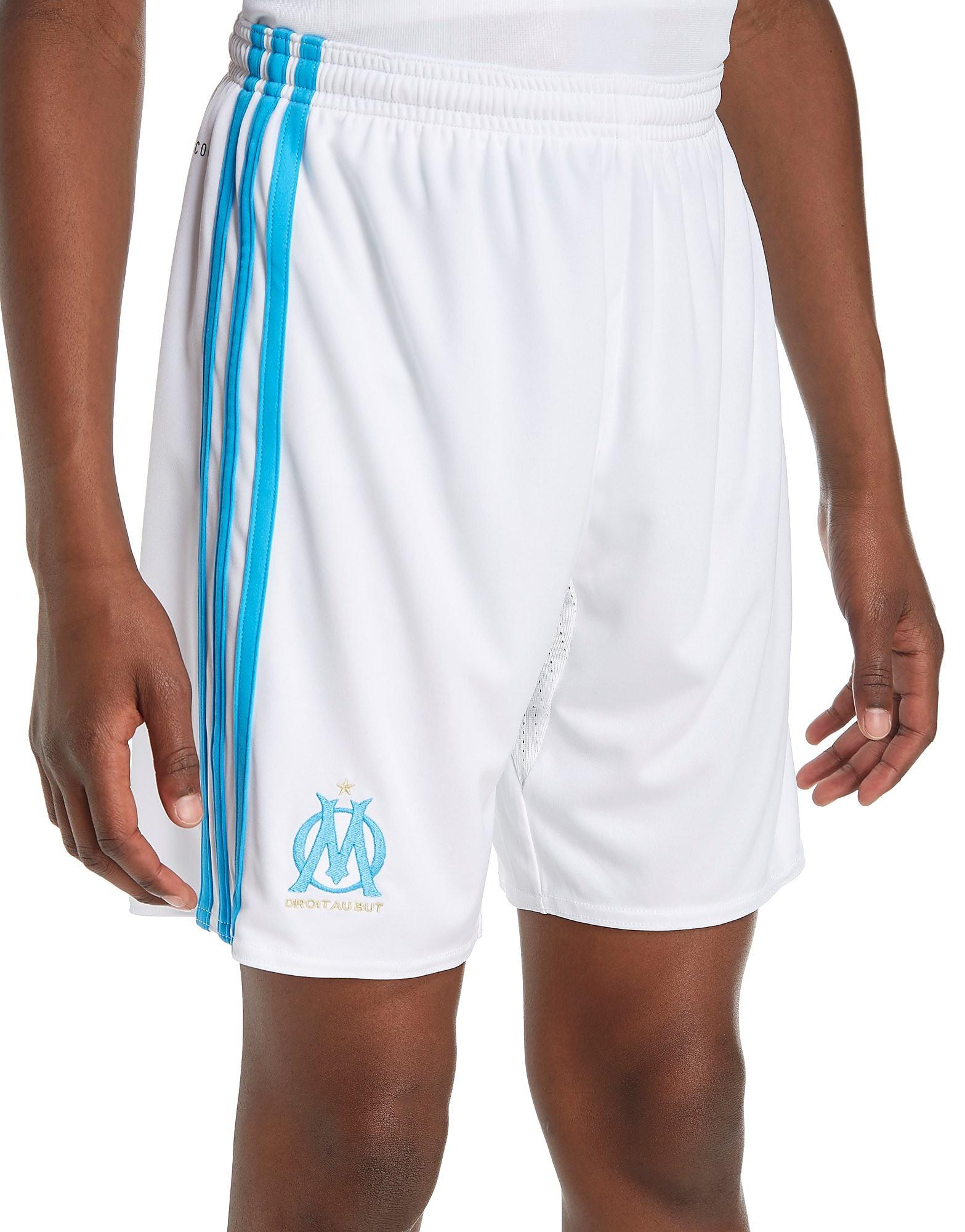 adidas Olympique Marseille 2017/18 Home Shorts Junior