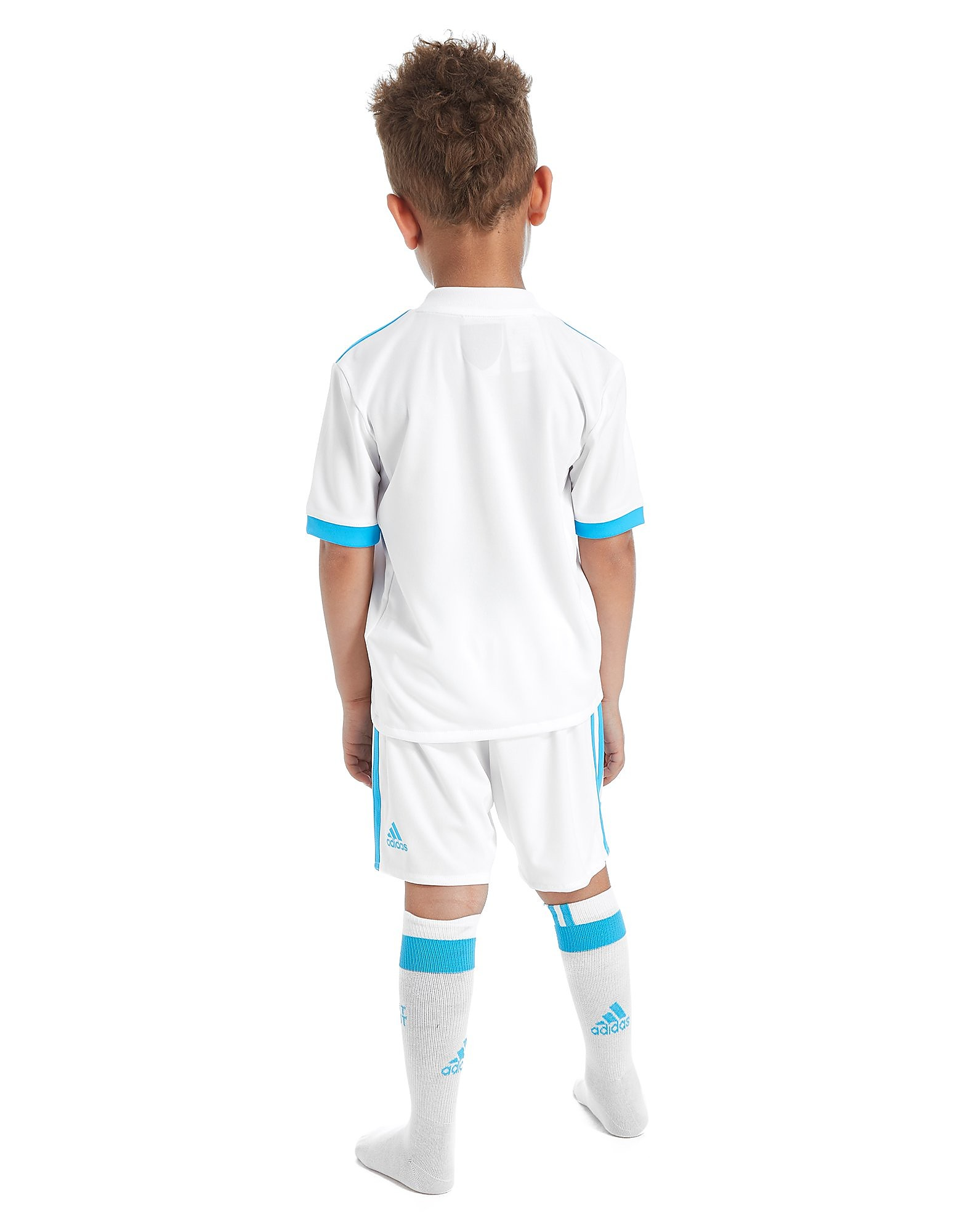adidas Olympique Marseille Home 2017/18 Kit Children