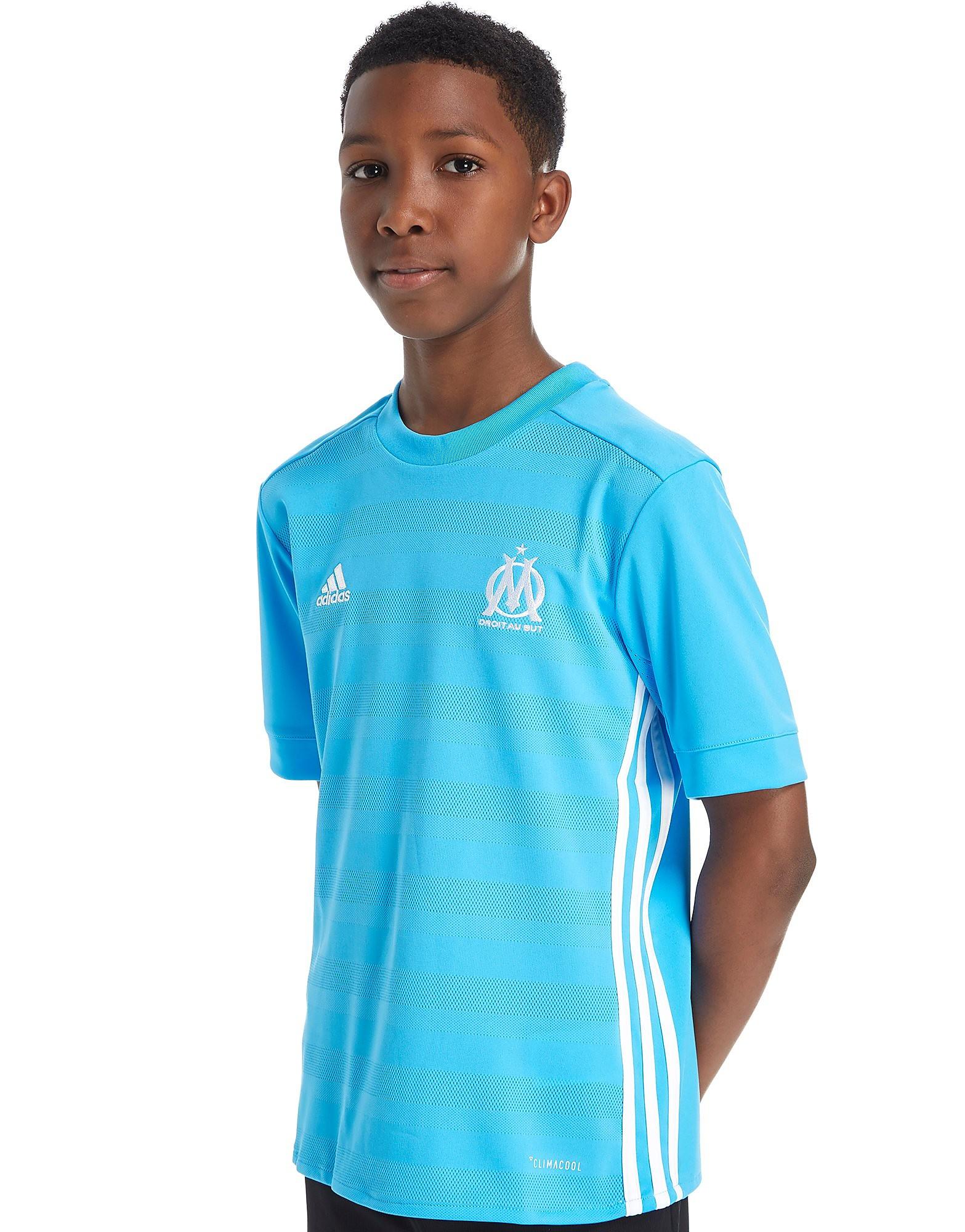adidas Olympique Marseille 2017/18 Away Shirt Junior