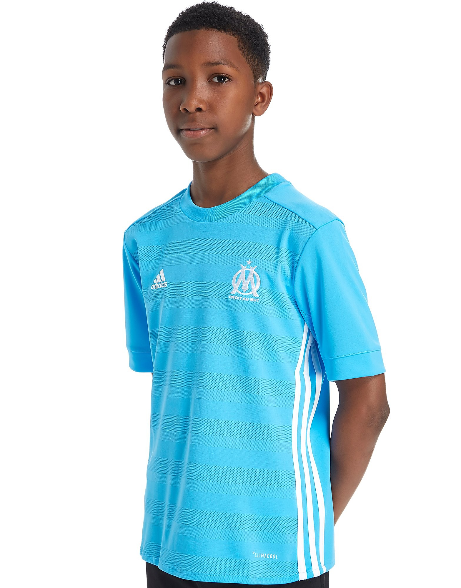 adidas Olympique Marseille 2017/18 Away Shirt Junior